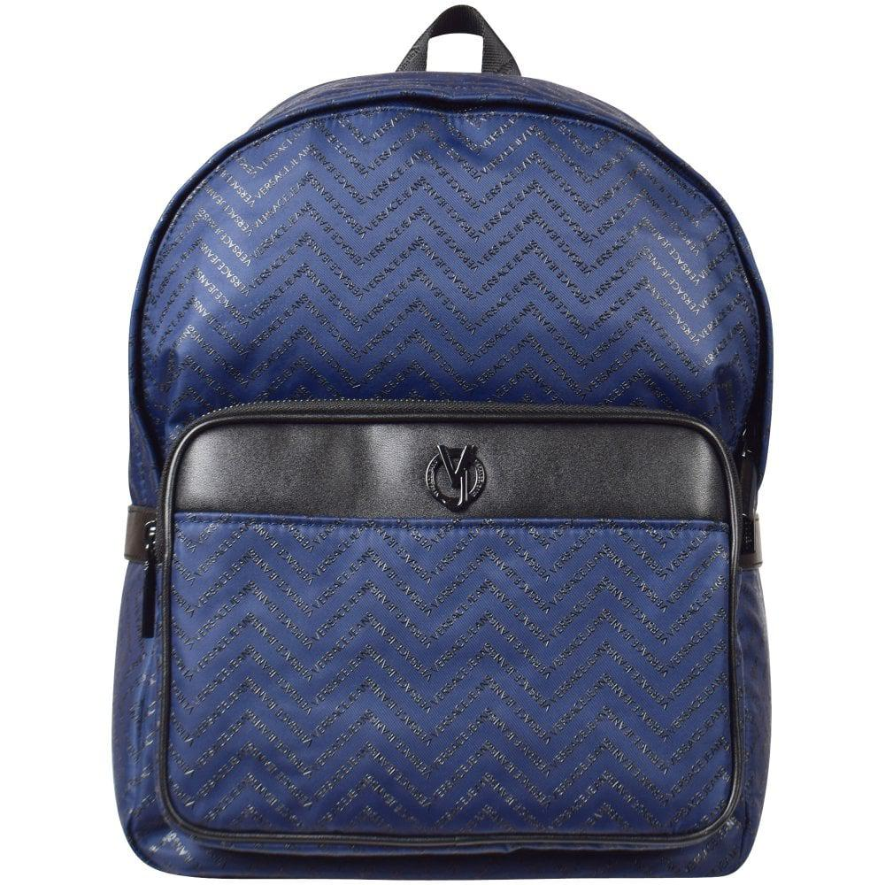 21467412e851 Versace Jeans Backpack Blue