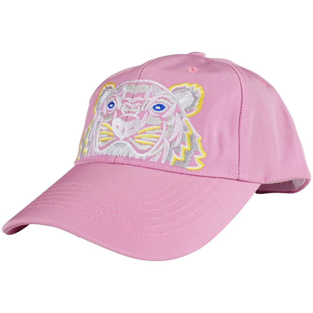 71145053f39 KENZO Flamingo Pink Tiger Logo Baseball Cap in Pink for Men - Save ...