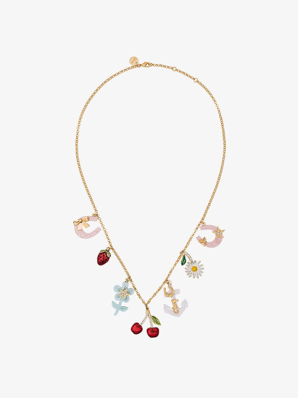crystal necklace - Metallic Miu Miu BjsG10RxD