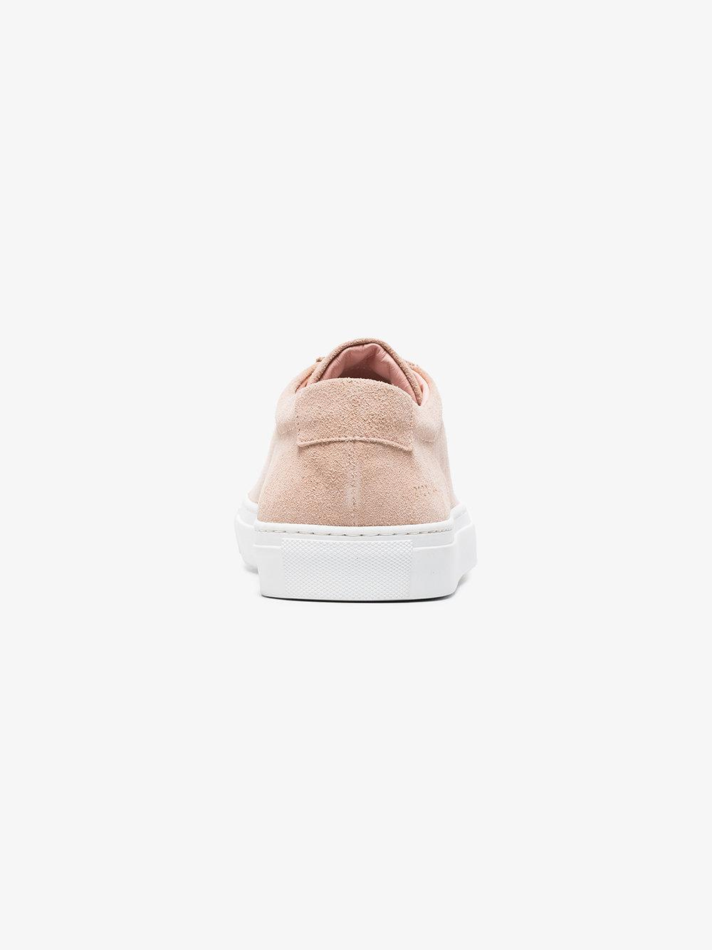 neutral Achilles suede sneakers - Pink & Purple Common Projects xHIUH