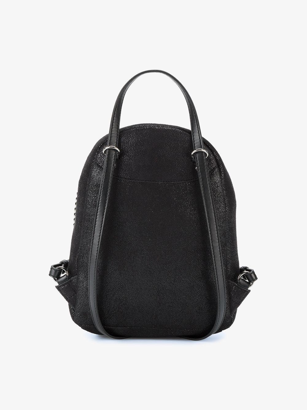 e664bc91d7 Stella Mccartney Black Mini Falabella Backpack