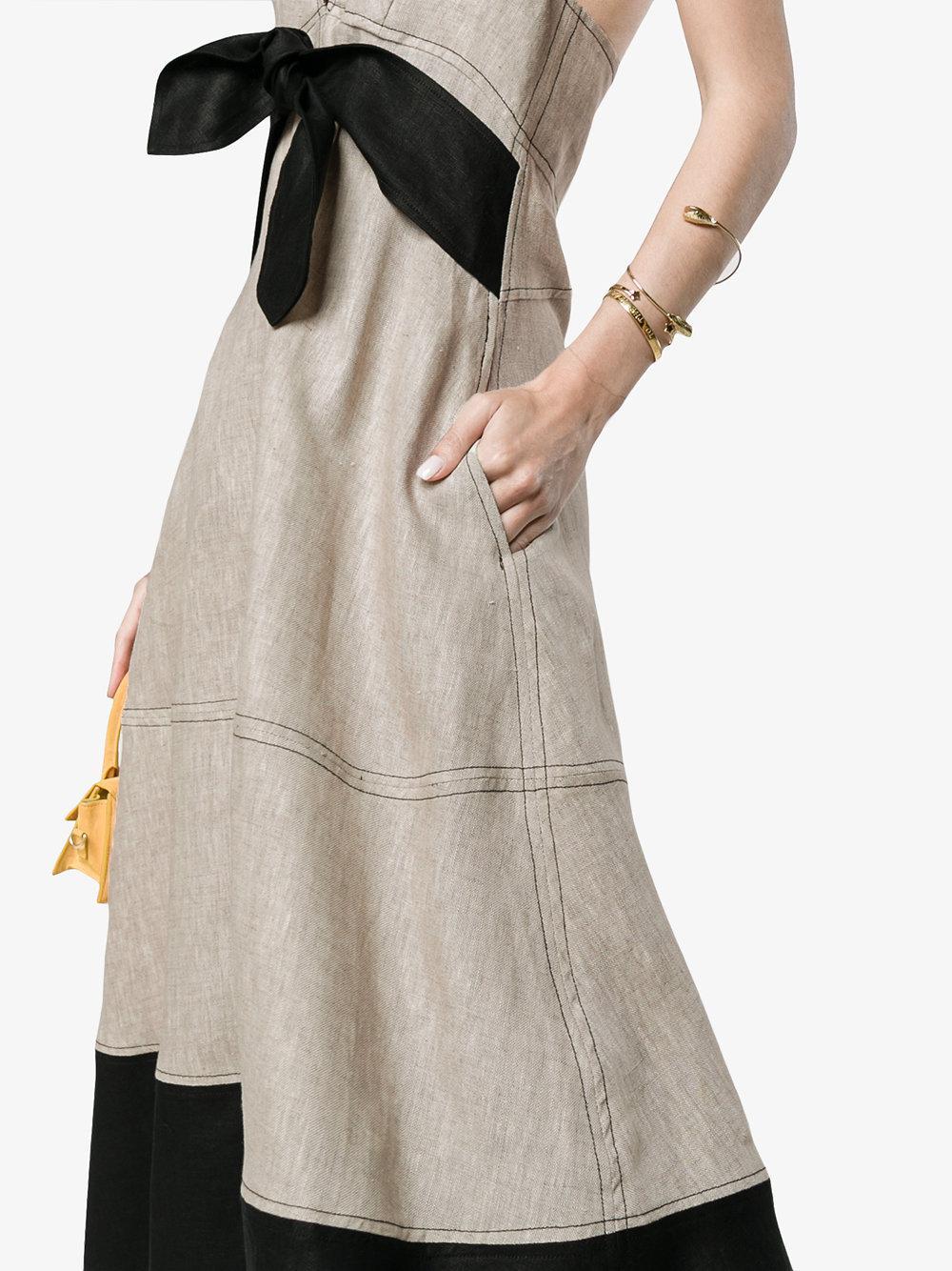 Coral Maxi Dress - Nude & Neutrals Paper London UPULbAY1