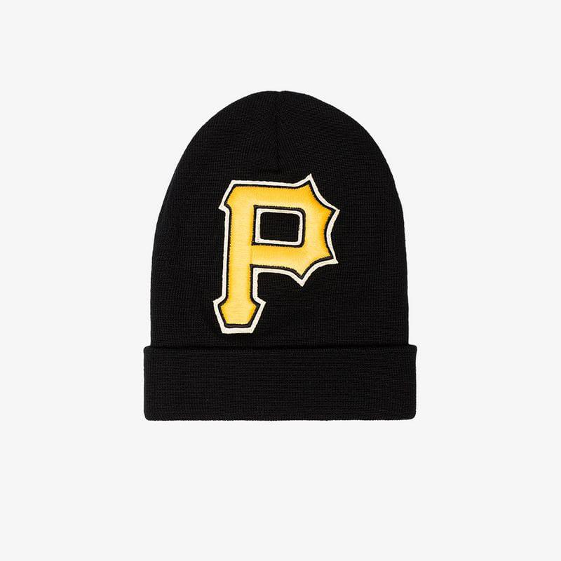 52c857e169597 Gucci Black And Yellow Pittsburgh Pirates Beanie in Black for Men - Lyst