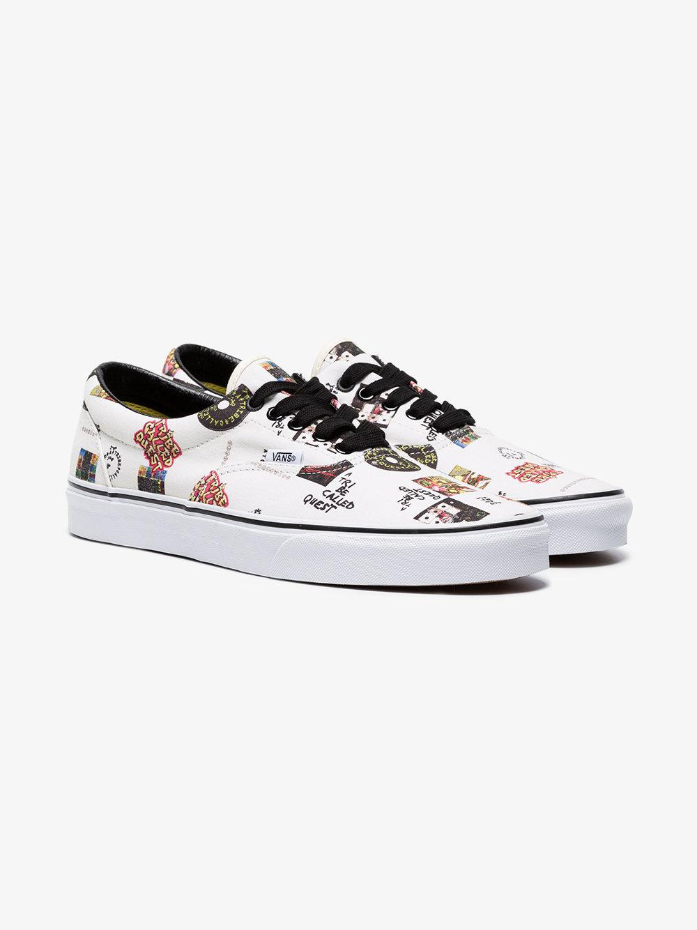 8b54eb2d80 Lyst - Vans Ua Era A Tribe Called Quest Print Cotton Sneakers in ...
