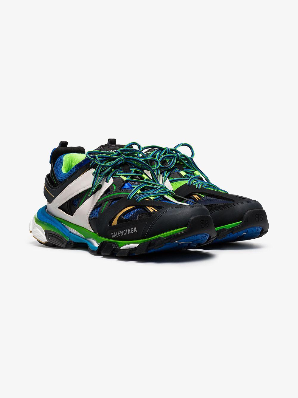 9749e7143a24f Balenciaga - Multicolor Multicoloured Track Low-top Sneakers for Men -  Lyst. View fullscreen