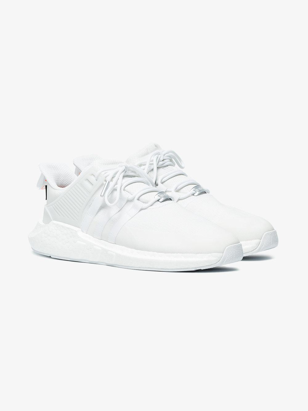low priced 3a584 06637 adidas. Mens White Eqt Support ...