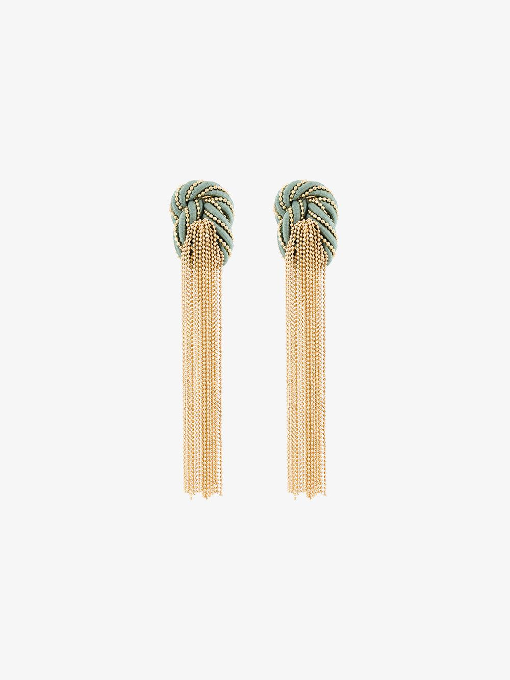 Rosantica Incontro tassel drop earrings xLT7FJ