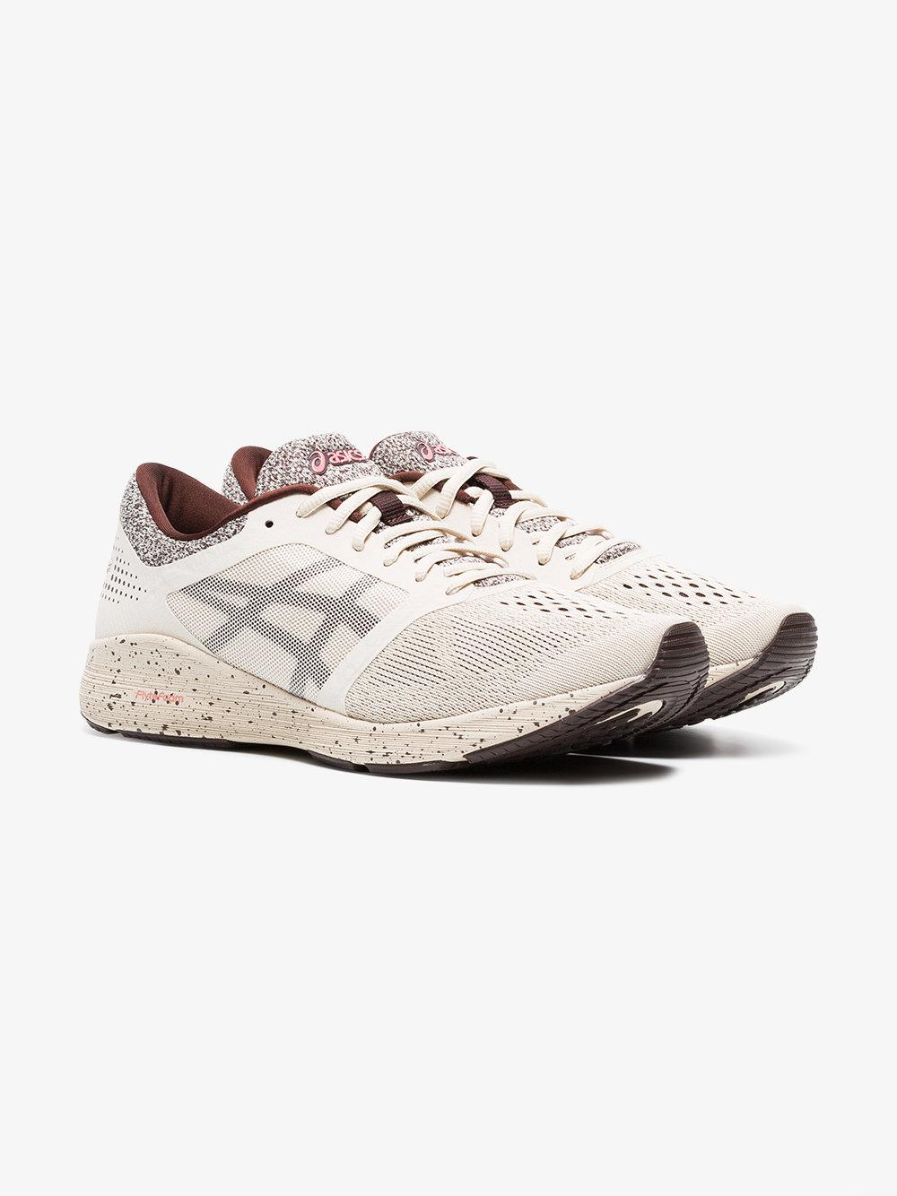Nude And Red Roadhawk FF Sakura Sneakers Asics Cvu8J