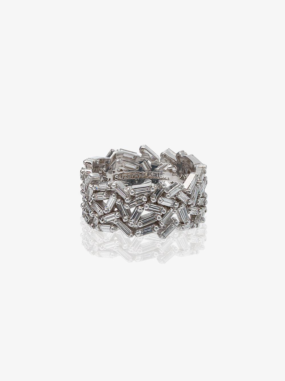 18K White Gold and diamond Medium Sparkler Eternity Band Suzanne Kalan 1aJAWbT