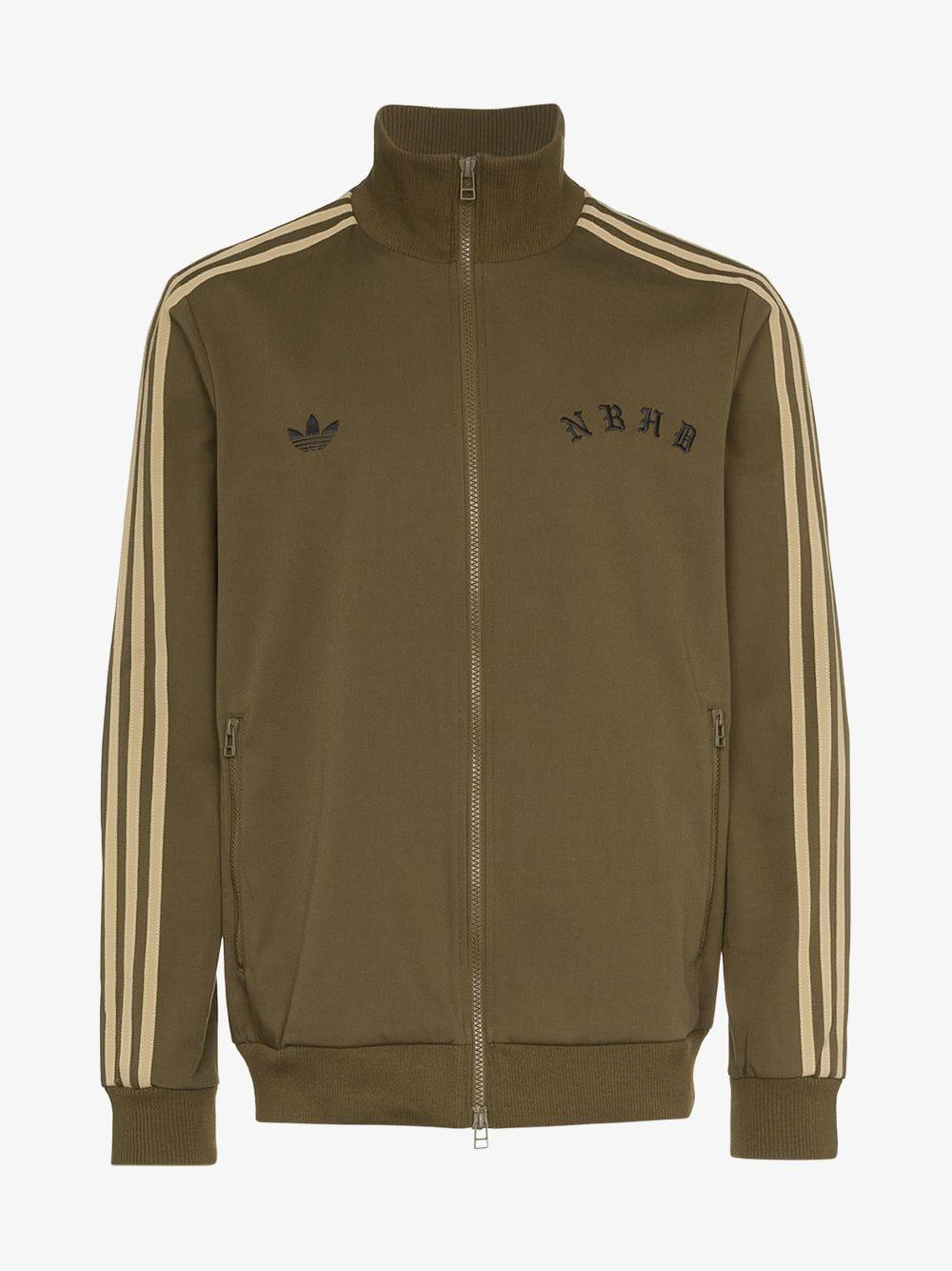 43c058ffa9b8 adidas X Neighborhood Logo Track Jacket in Green for Men - Lyst