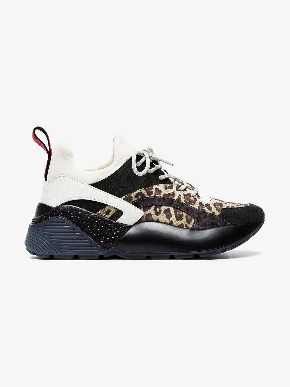 Eclypse leopard-print low-top trainers Stella McCartney 06OdX2vwm