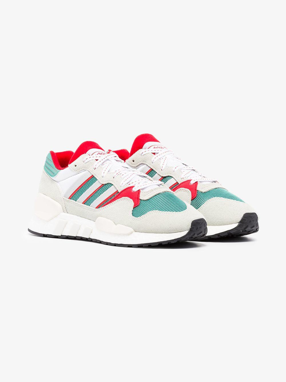 02925e3754986f ... Adidas - Green Never Made Multicoloured Zx930 X Eqt Suede Sneakers for  Men - Lyst. adidas Rising Star x R1 Never ...