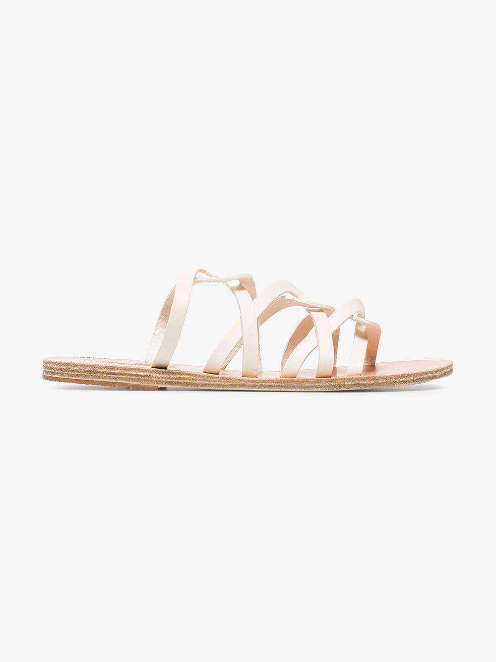 6cdf566cac506b Lyst - Ancient Greek Sandals White Donousa Multistrap Leather Sandals in  White - Save 3.9548022598870034%
