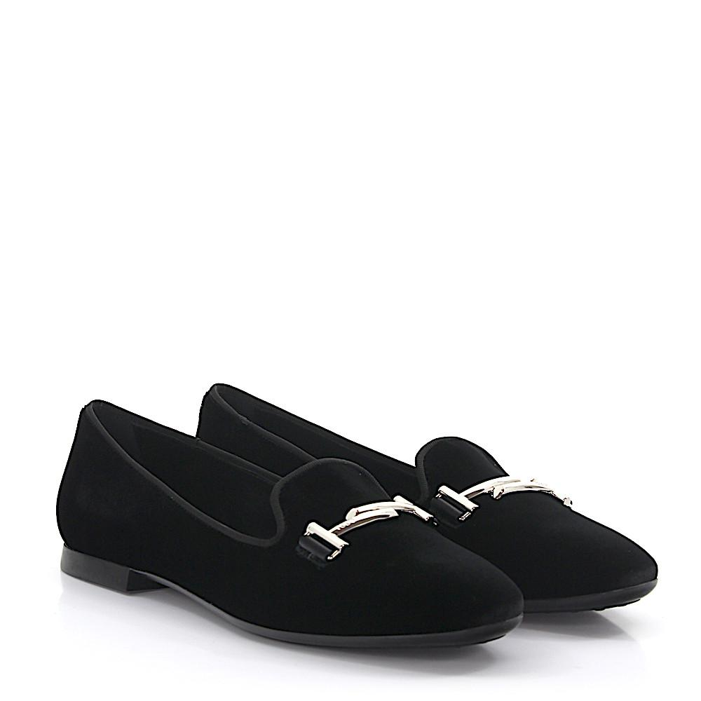 Tod's Moccasin Slippers A0V141 velvet Recommend Cheap Online 2018 New Online New Cheap Price N7UwsE9
