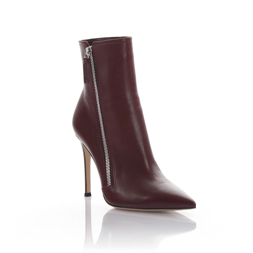 Gianvito Rossi Boots G70050 leather bordeaux tSSXdl