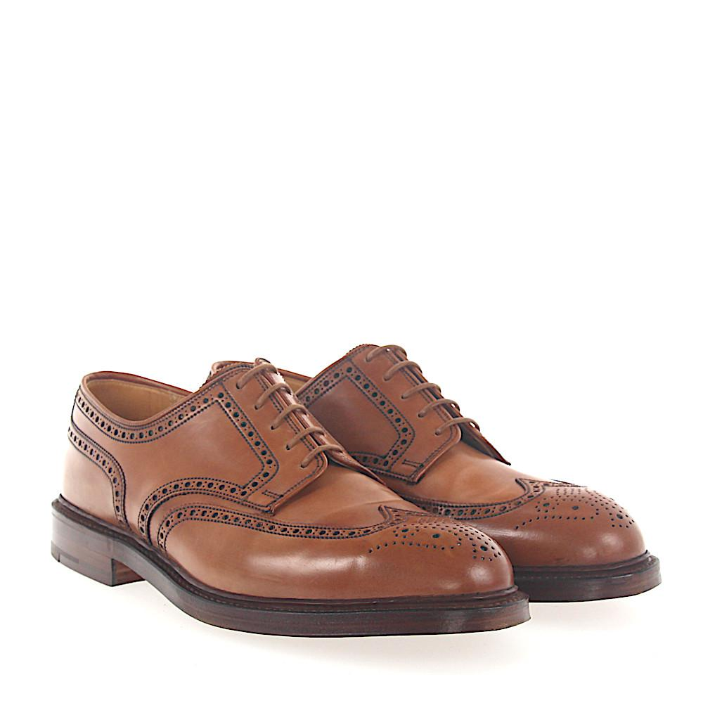 Crockett & Jones Derby cordovan leather Hole pattern mXcPc