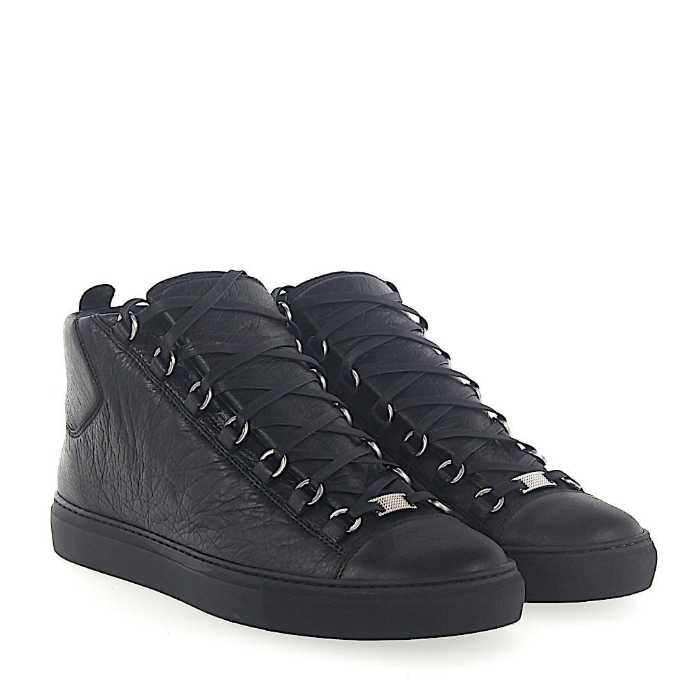 BalenciagaSneaker high ARENA lambskin Crinkled 8ZT41Qi6SE