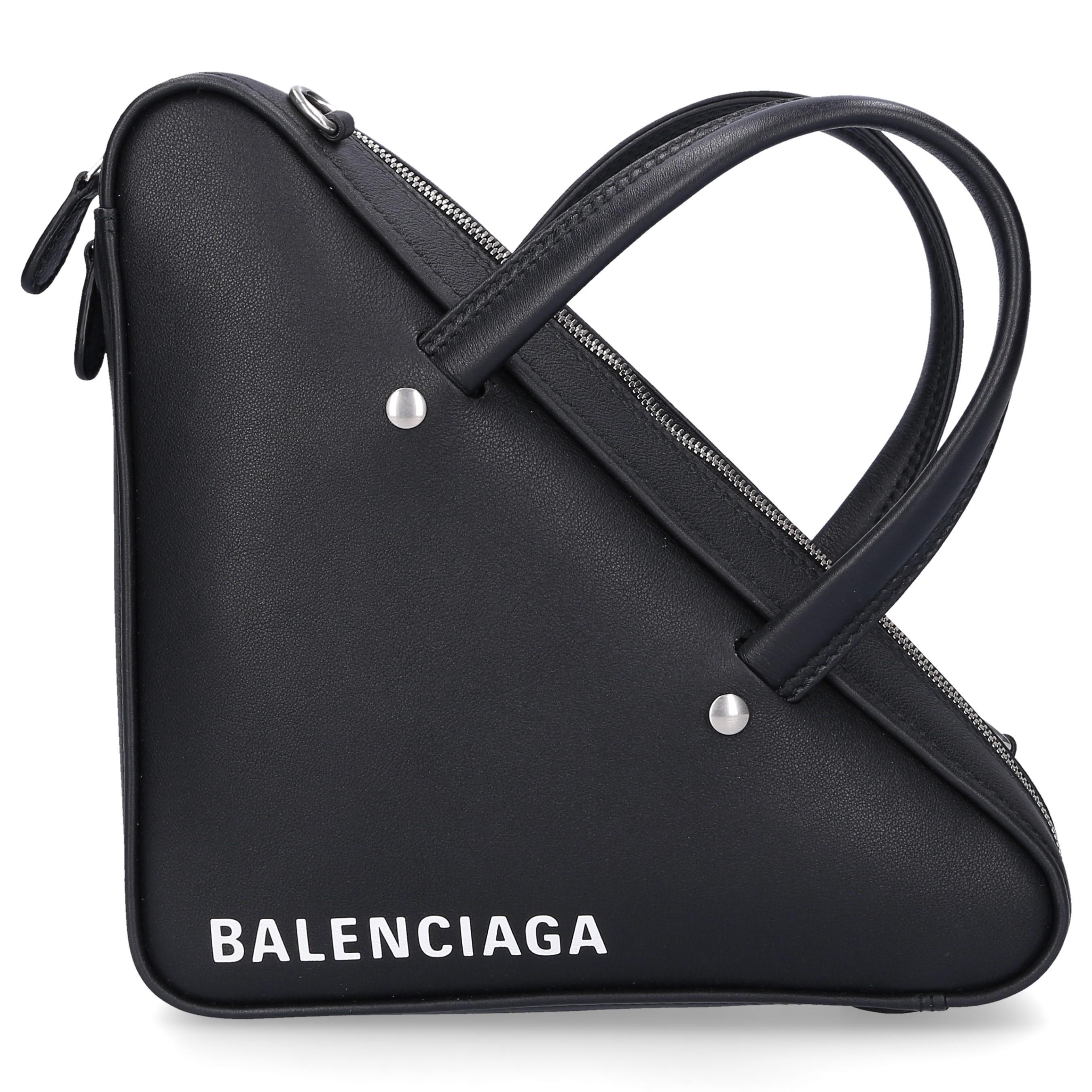 a9b6a8ef5324 Lyst - Balenciaga Handbag Duffle Xs Leather Logo Black in Black
