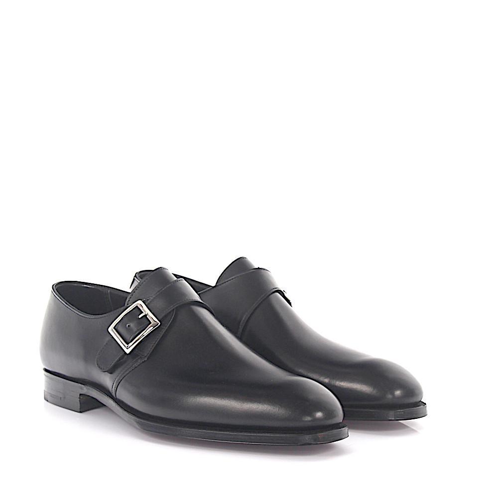 Crockett & Jones Single-Monk Savile leather