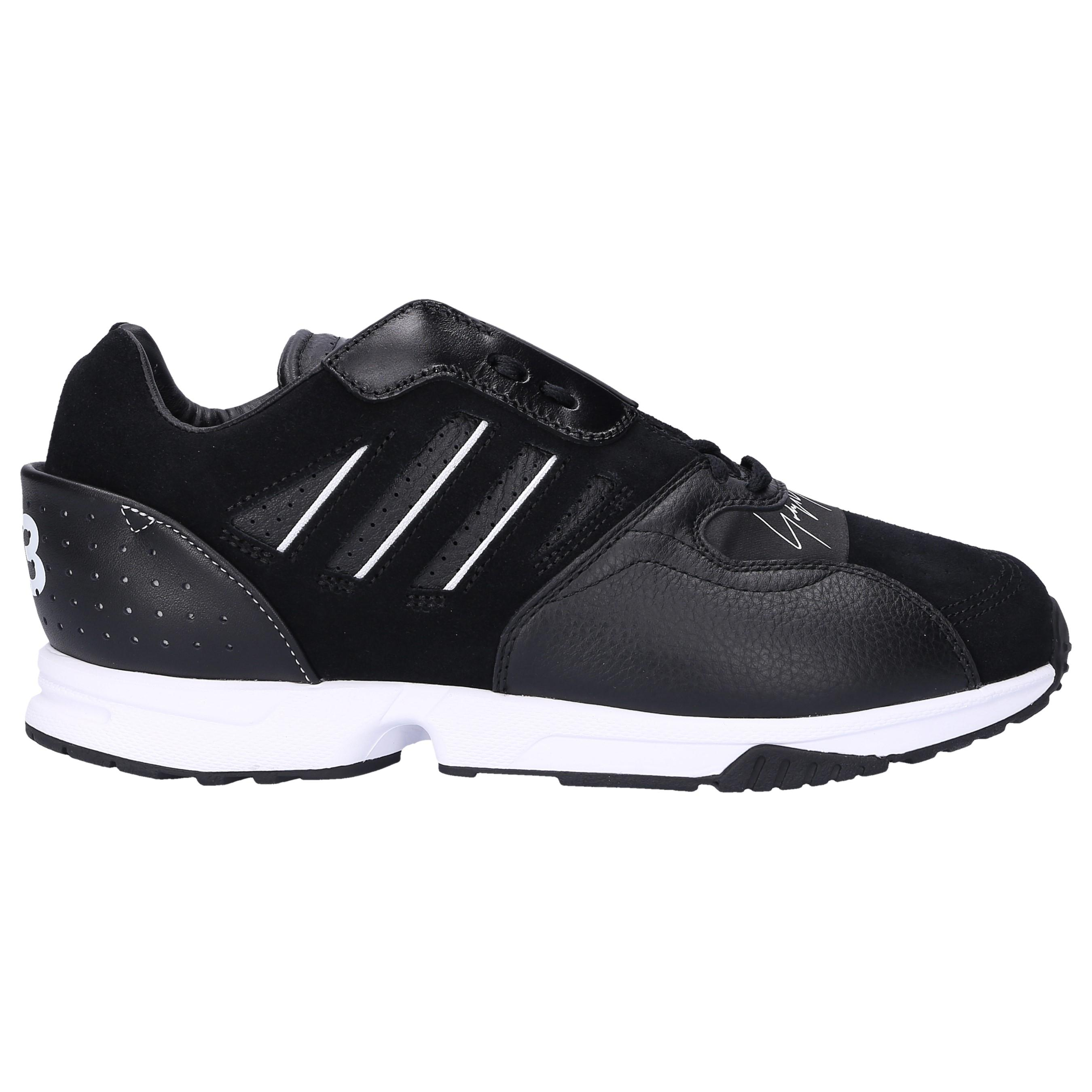 45417e8625a77 Lyst - adidas Leather Sneakers Zx Run in Black for Men
