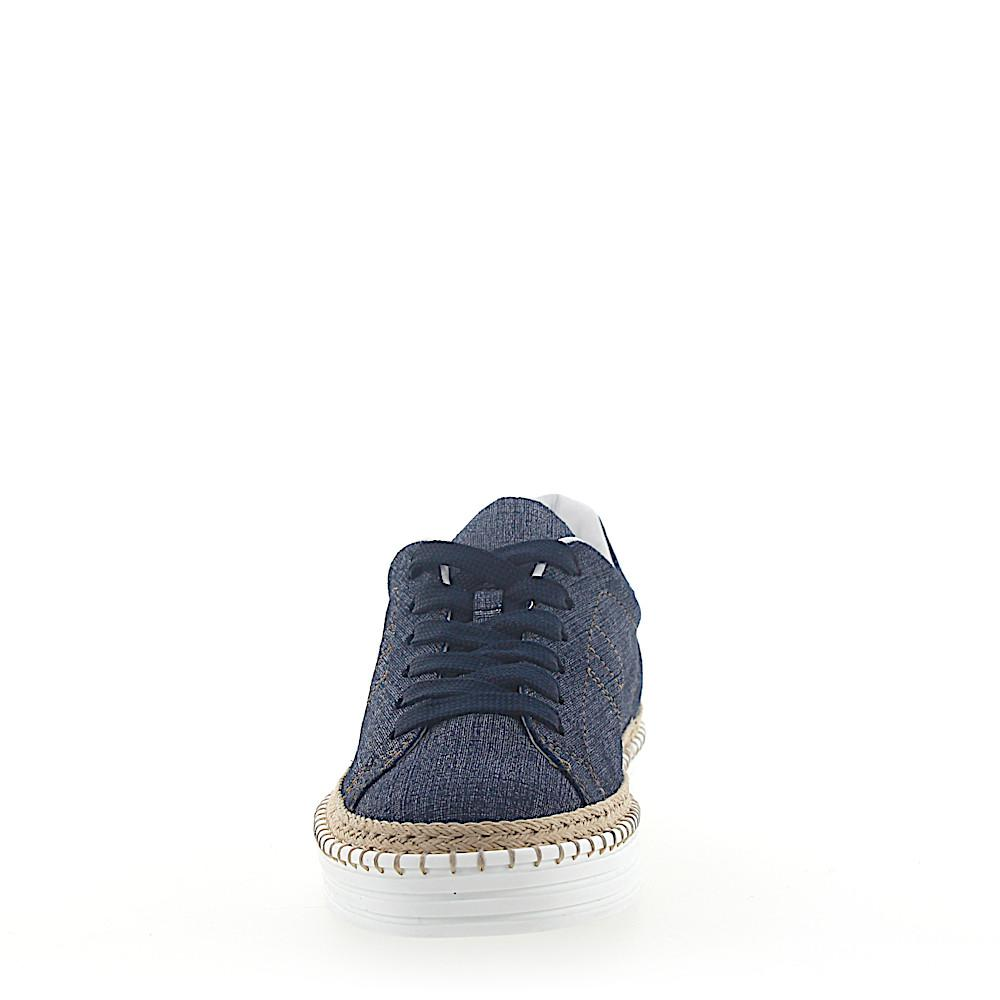 Hogan Sneakers R260 Denim jeansblau beige