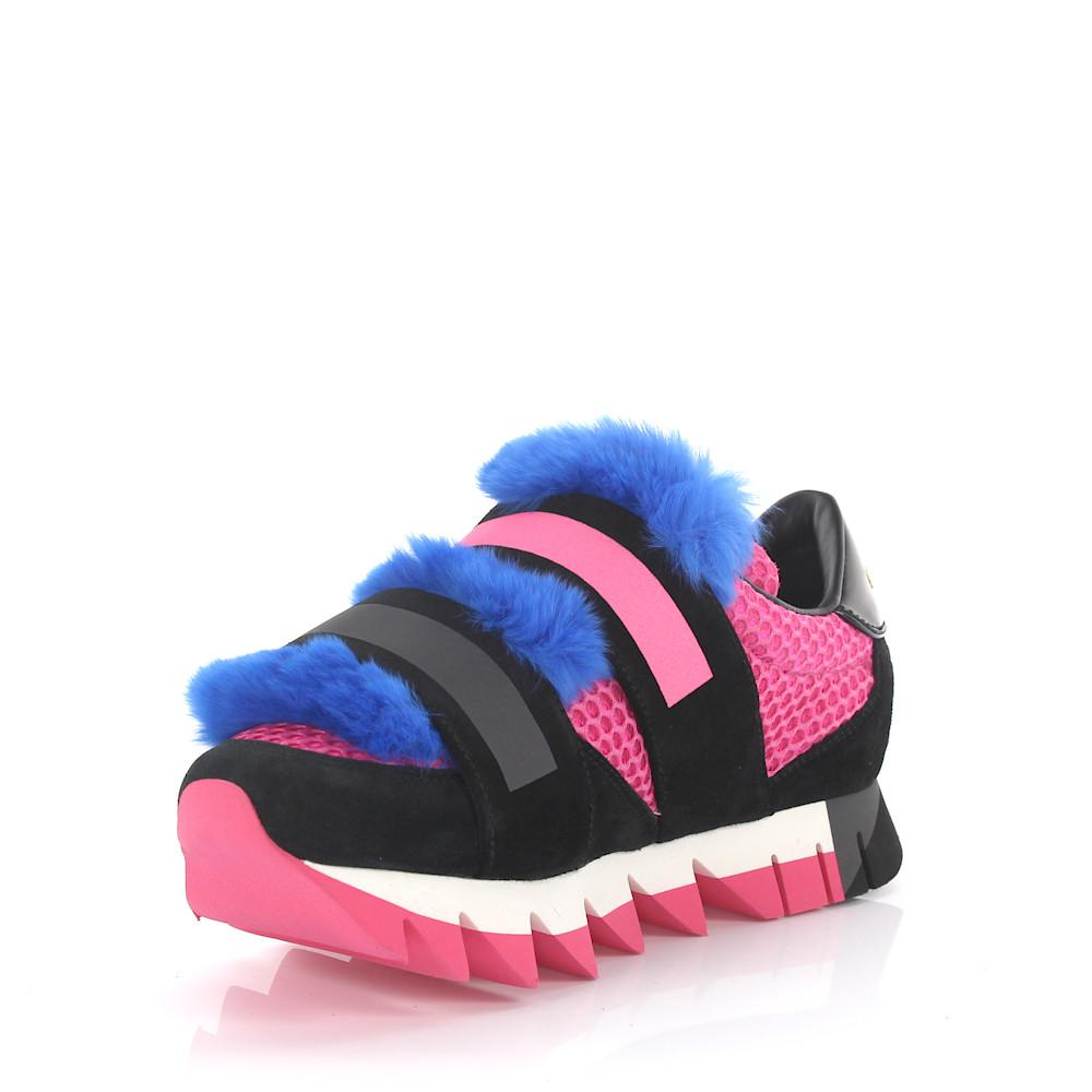 quality design a1fa5 5b5f8 dolce-gabbana-pink-Sneakers-Leather-Fur-Details-Pink-Blue.jpeg