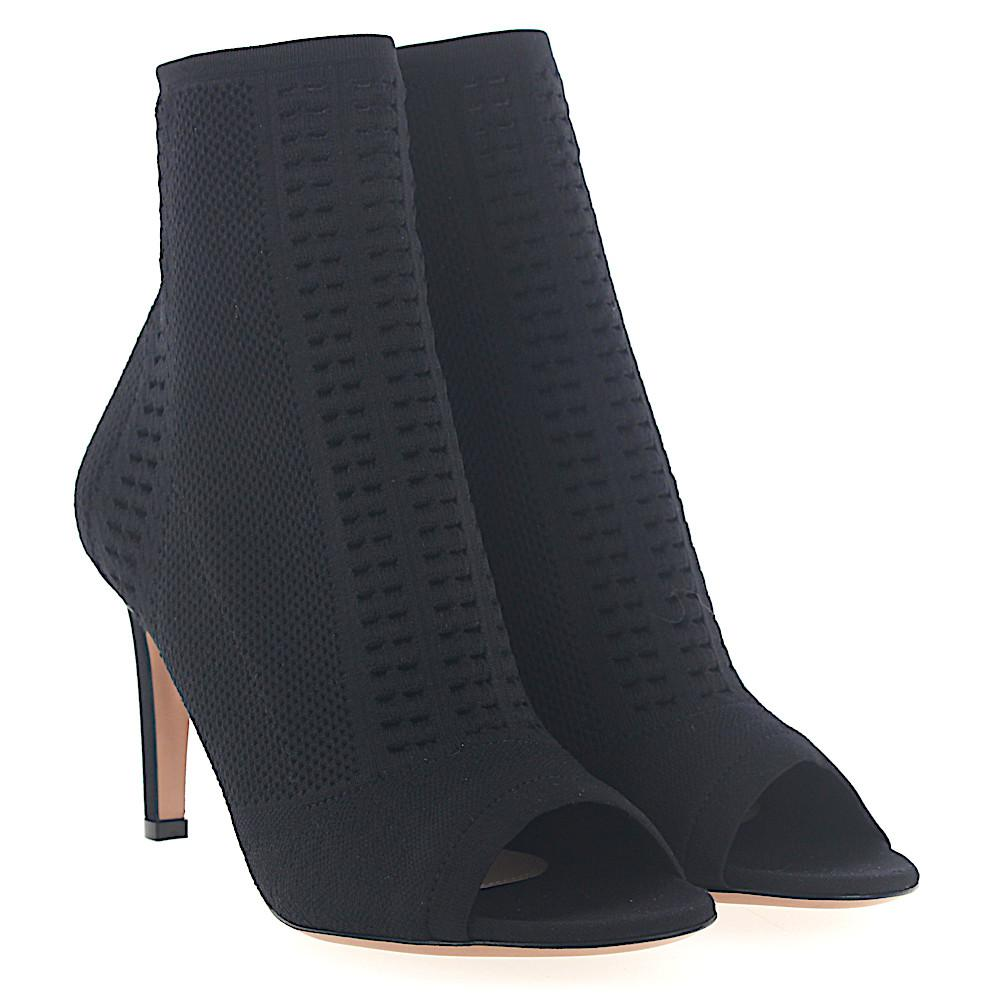 Sergio Rossi Cloth Ankle Boots NSFUFgAj3