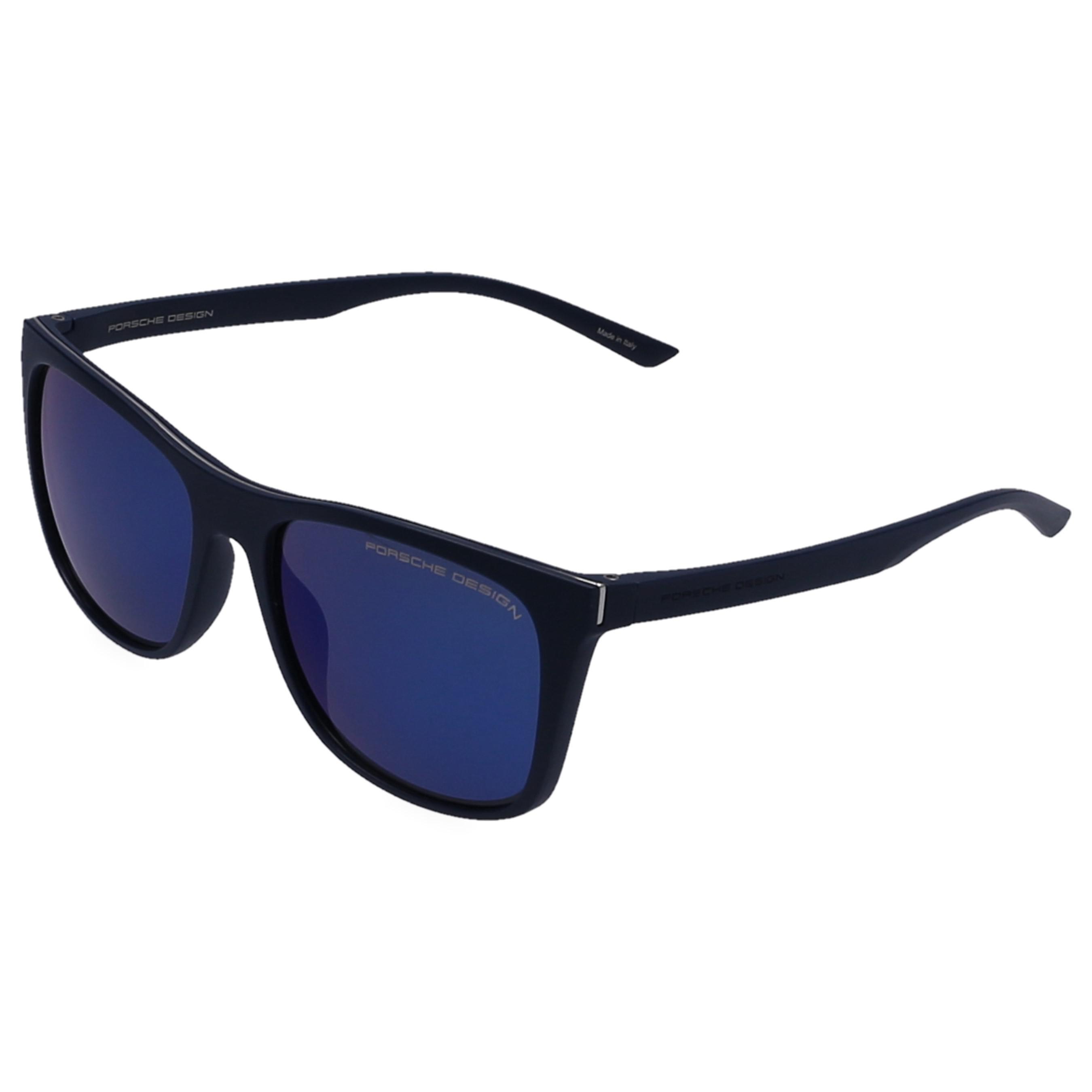 0241a36da90 Porsche Design - Multicolor Sunglasses Square 8648 Mirrored Acetate Blue for  Men - Lyst. View fullscreen