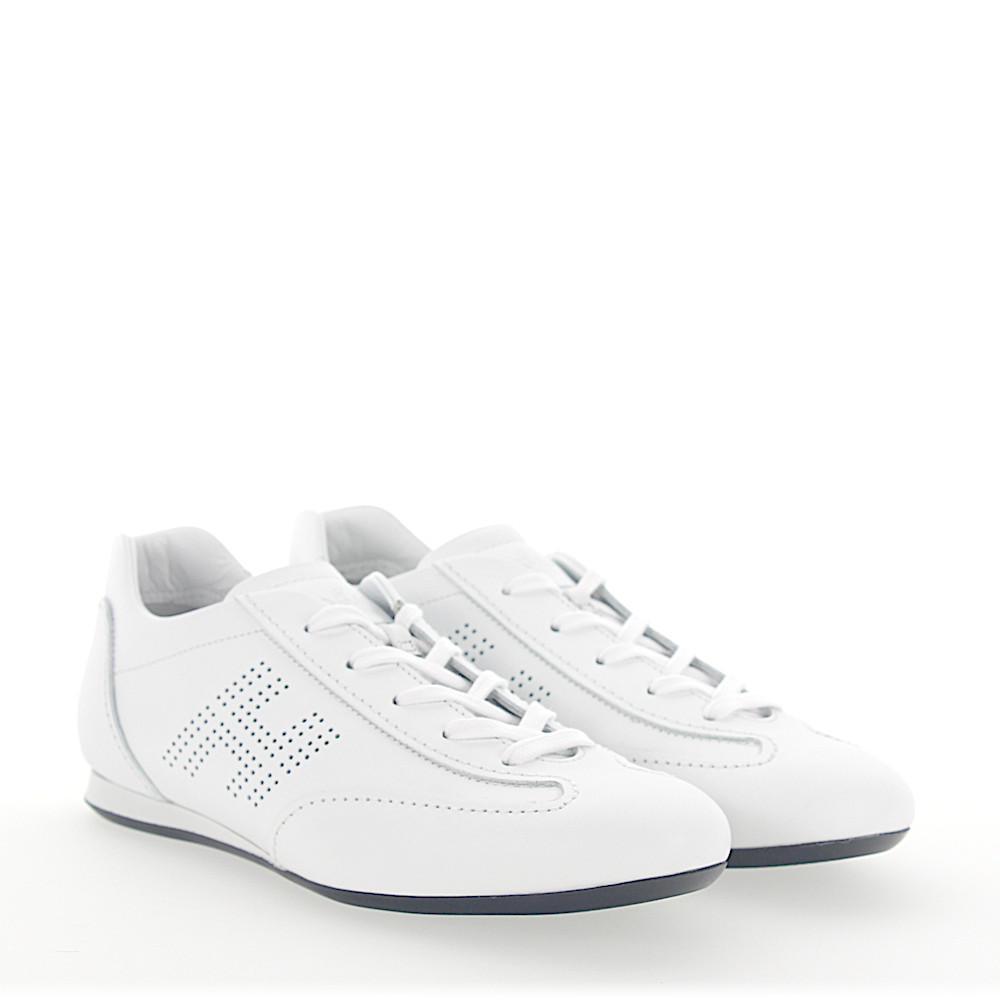 Sneakers smooth leather Metallic black Hogan ZKIQocJ