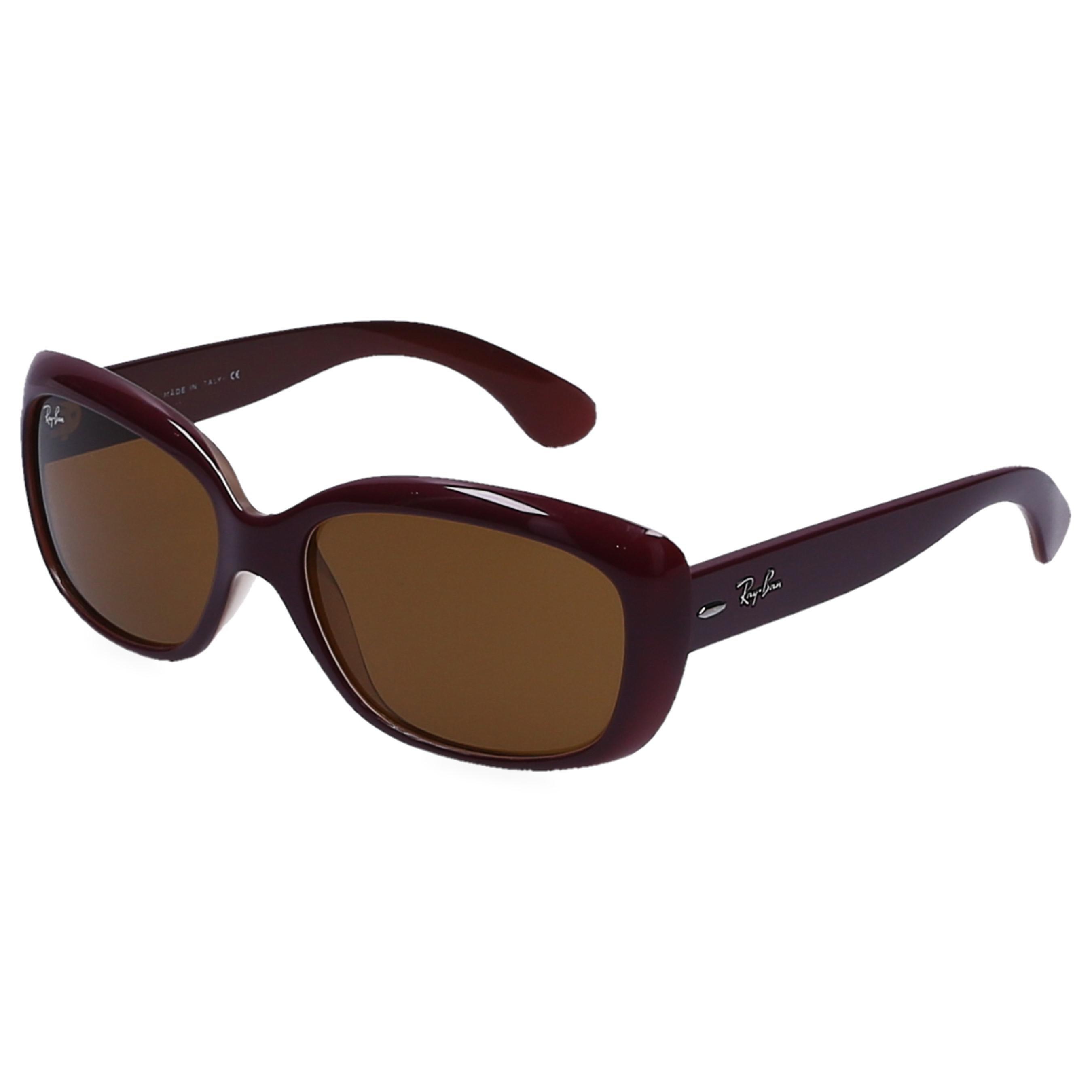 7e100dd316a Ray-Ban - Brown Women Sunglasses Rectangular 4101 Nylon Bordeaux - Lyst.  View fullscreen