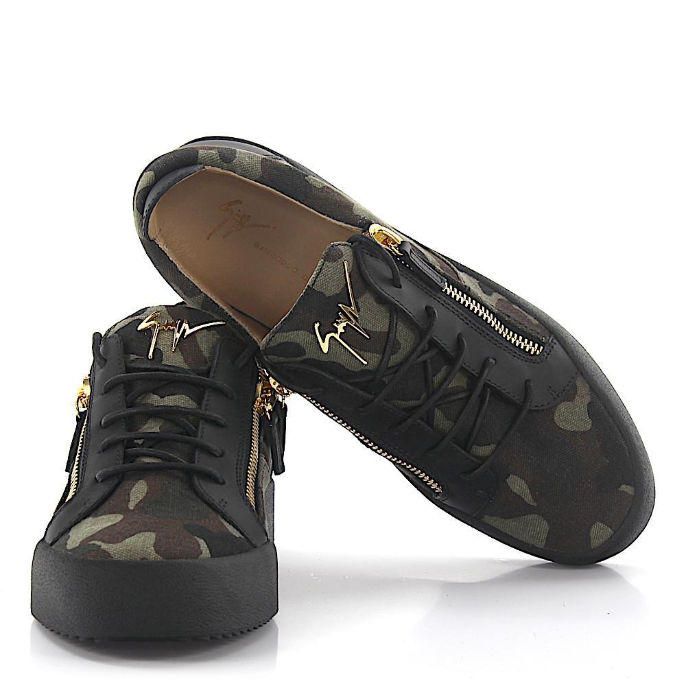 Giuseppe ZanottiSneakers Frankie fabric camouflage JMmF4X05Mx