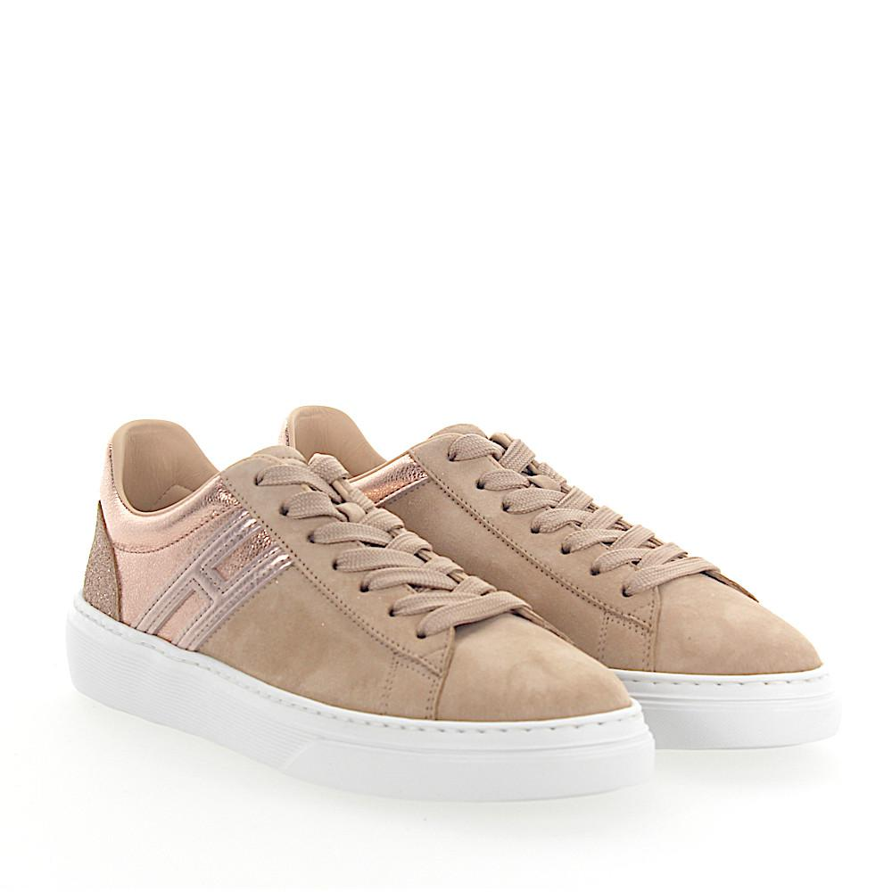 Hogan Sneakers H365 suede metallic glitter rosè Classic Online Footaction Cheap Price For Sale Very Cheap Great Deals For Sale IdYYKyEey6