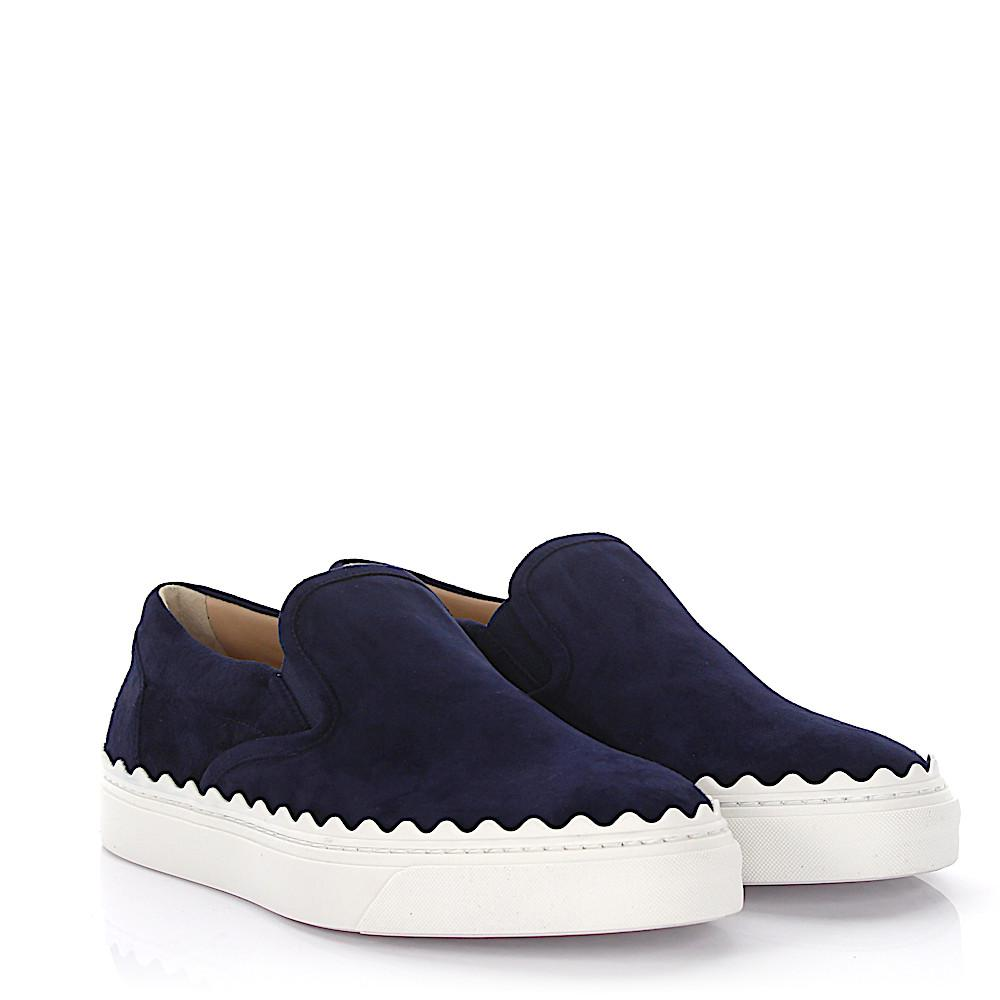 Ivy Suede Slip-On Sneakers pDDde