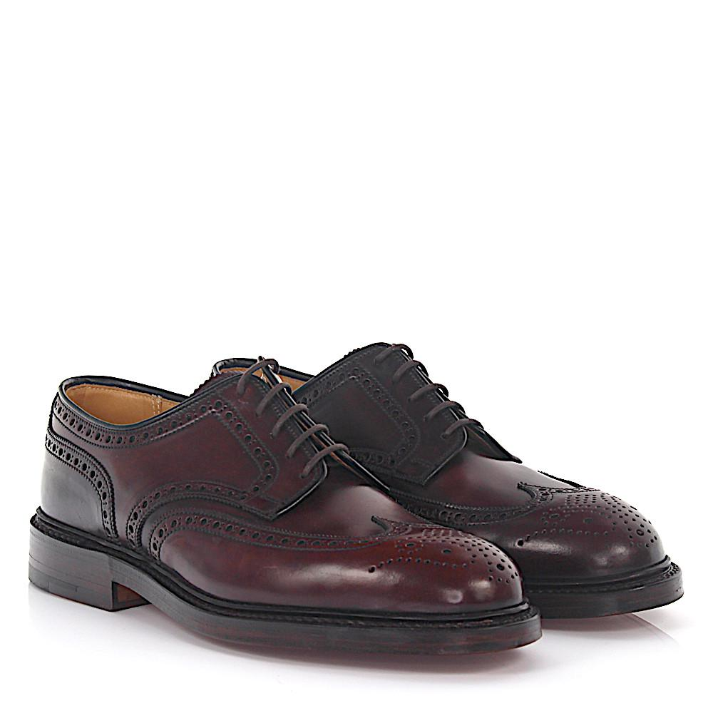 2018 New For Sale Derby budapester Pembroke leather cordovan bordeaux goodyear welted Crockett & Jones Discount Outlet High Quality 6O1Vd0Fht