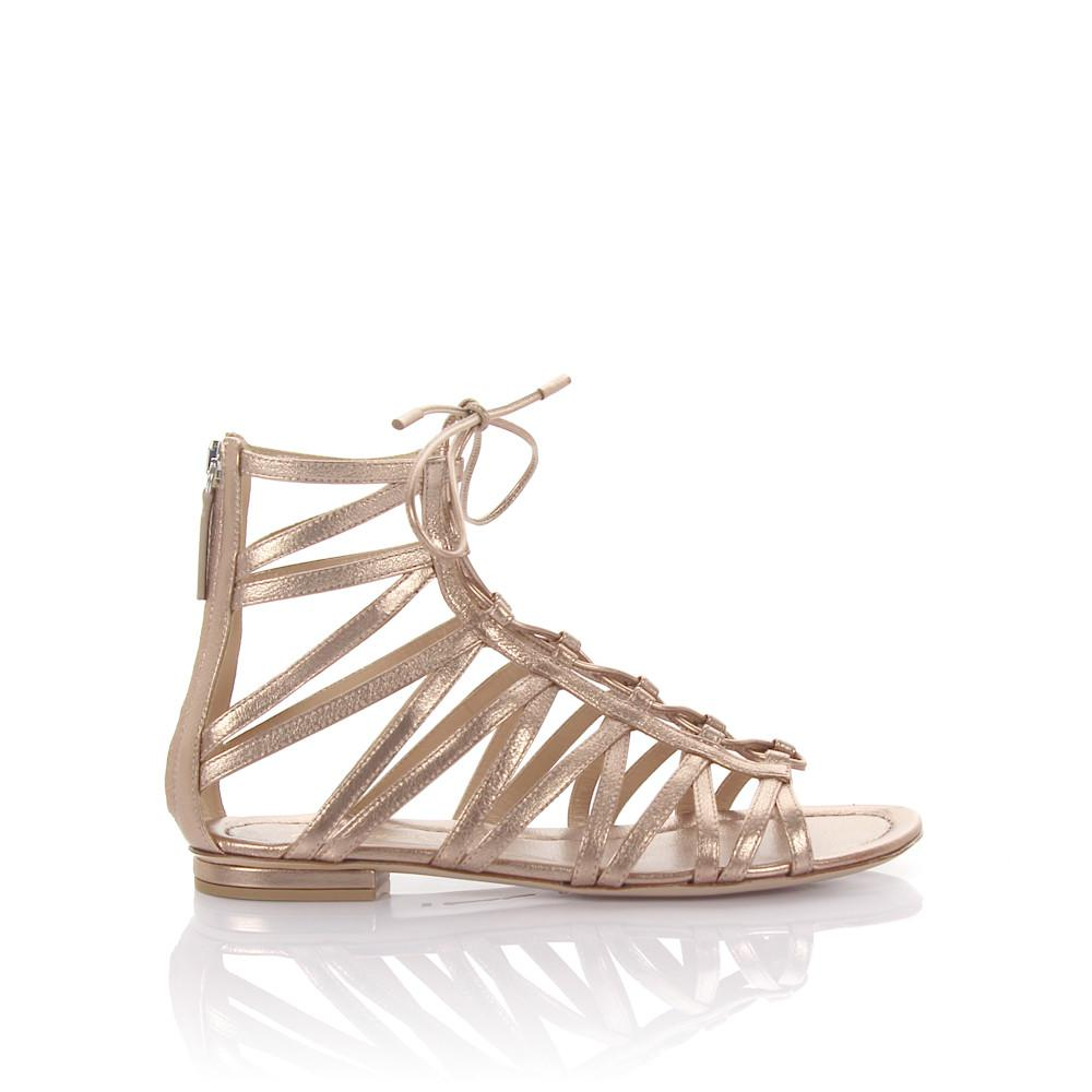 Gianvito Rossi Schaftsandalen G60938 leather