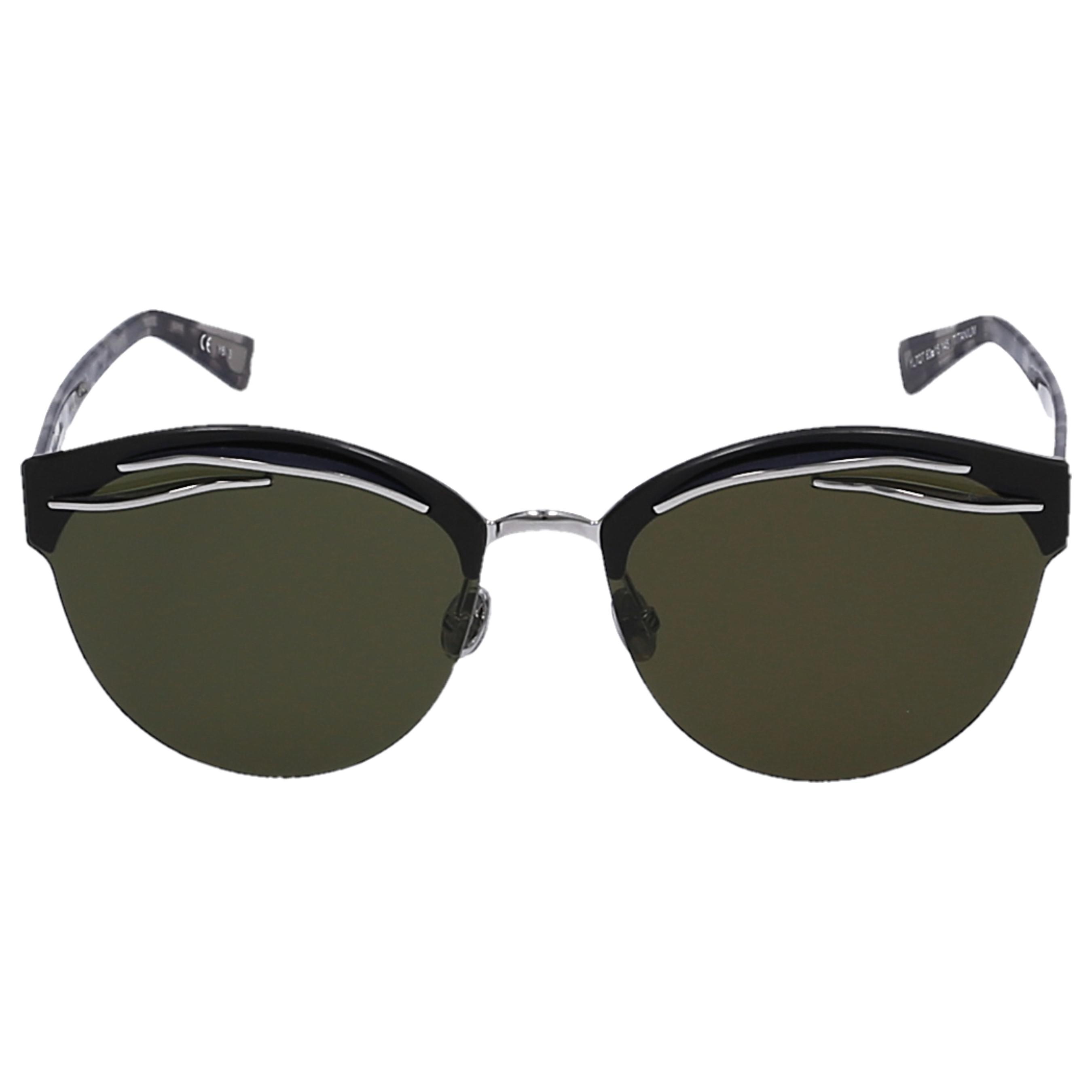 7339955c9427 Dior Sunglasses Cat Eye Emperis Acetate Turtoise Green - Lyst
