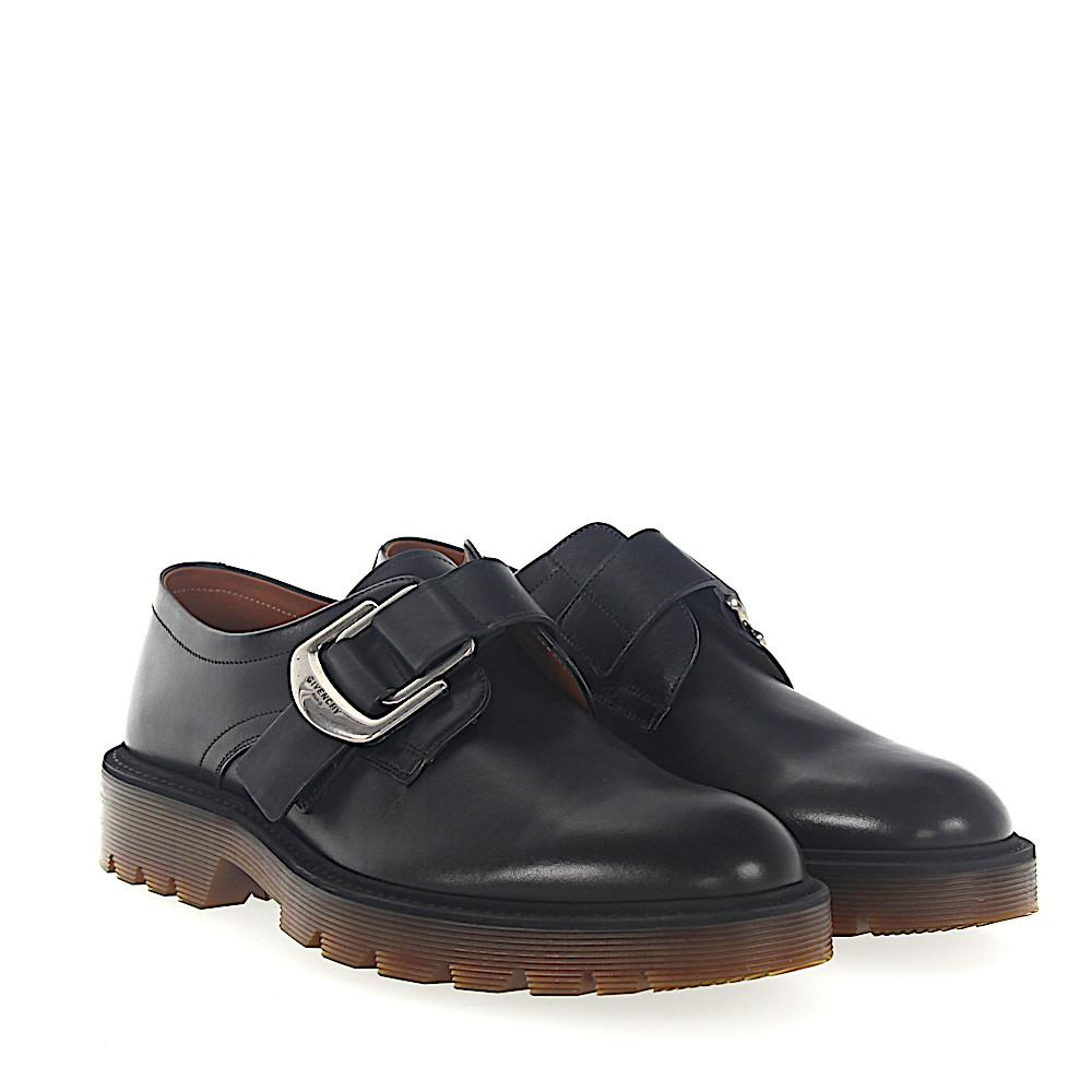 GivenchySingle-Monk CRUZ leather