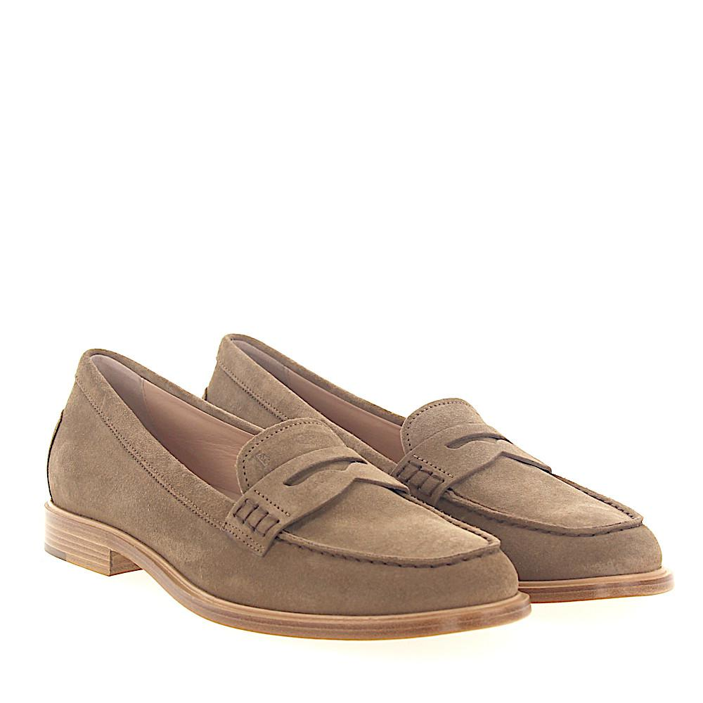Penny Loafer A0X100 suede brown Tod's uCbdy2