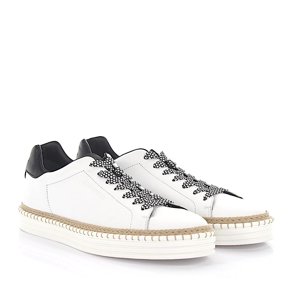 Free Shipping Discount Looking For Sneakers R260 leather white black Hogan Sale Pay With Paypal Official Site Cheap Online Y3BXwu