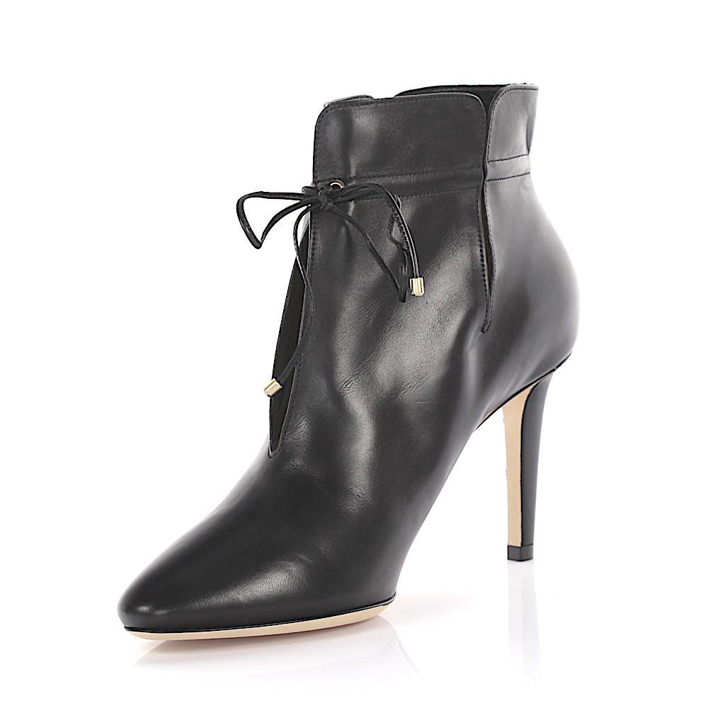 Murphy black leather ankle boot Jimmy Choo London STtqLDt