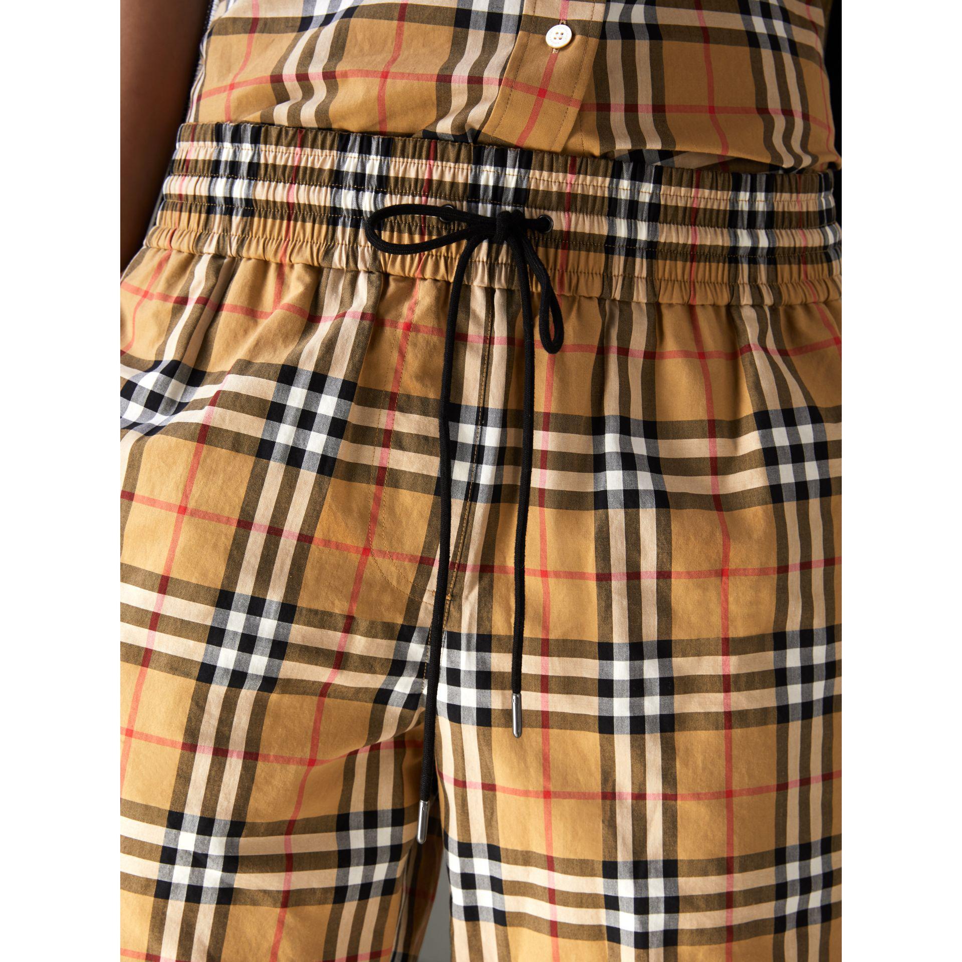 Burberry - Multicolor Vintage Check Drawstring Shorts - Lyst. View  fullscreen e428e9df4f