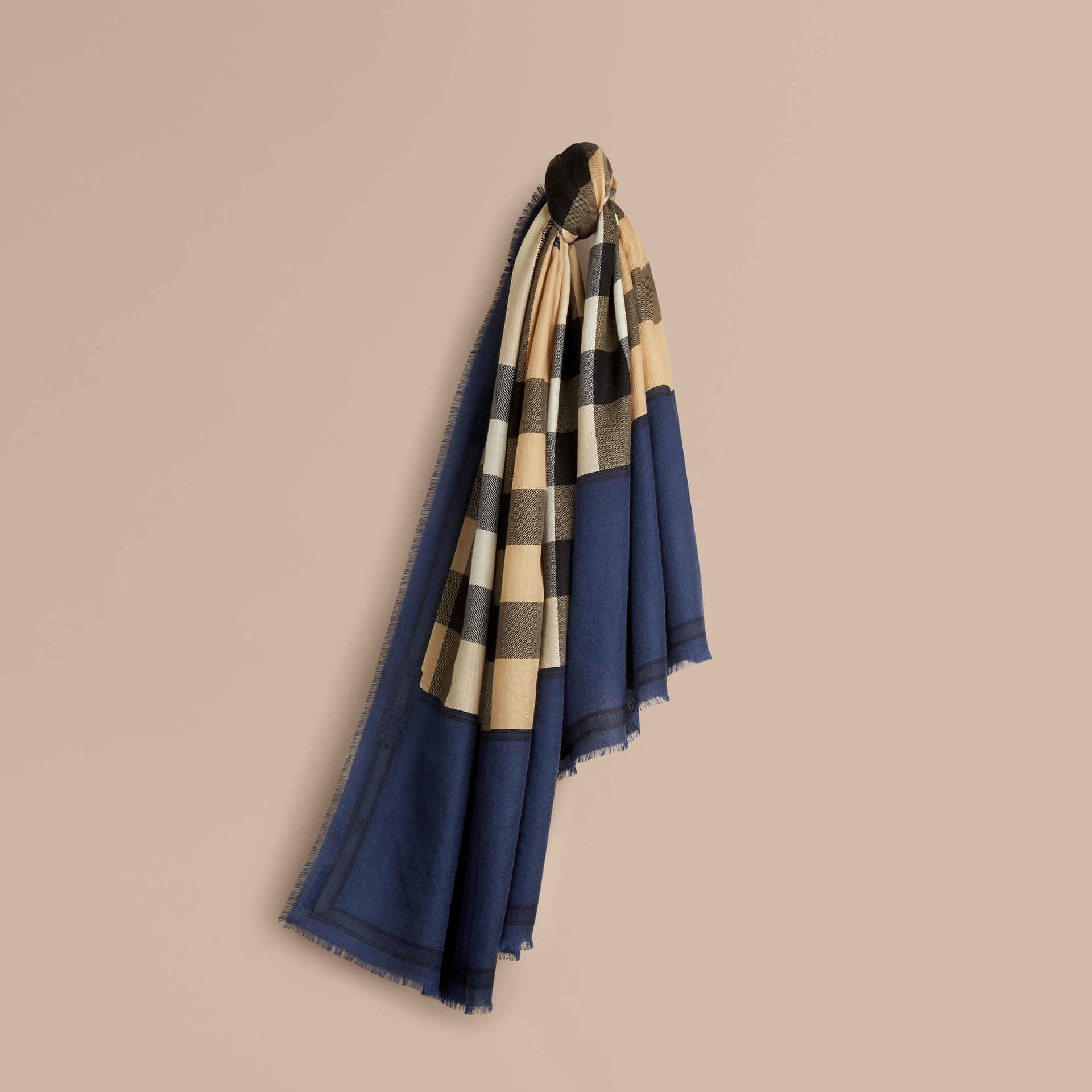 burberry horseferry check scarf in lyst