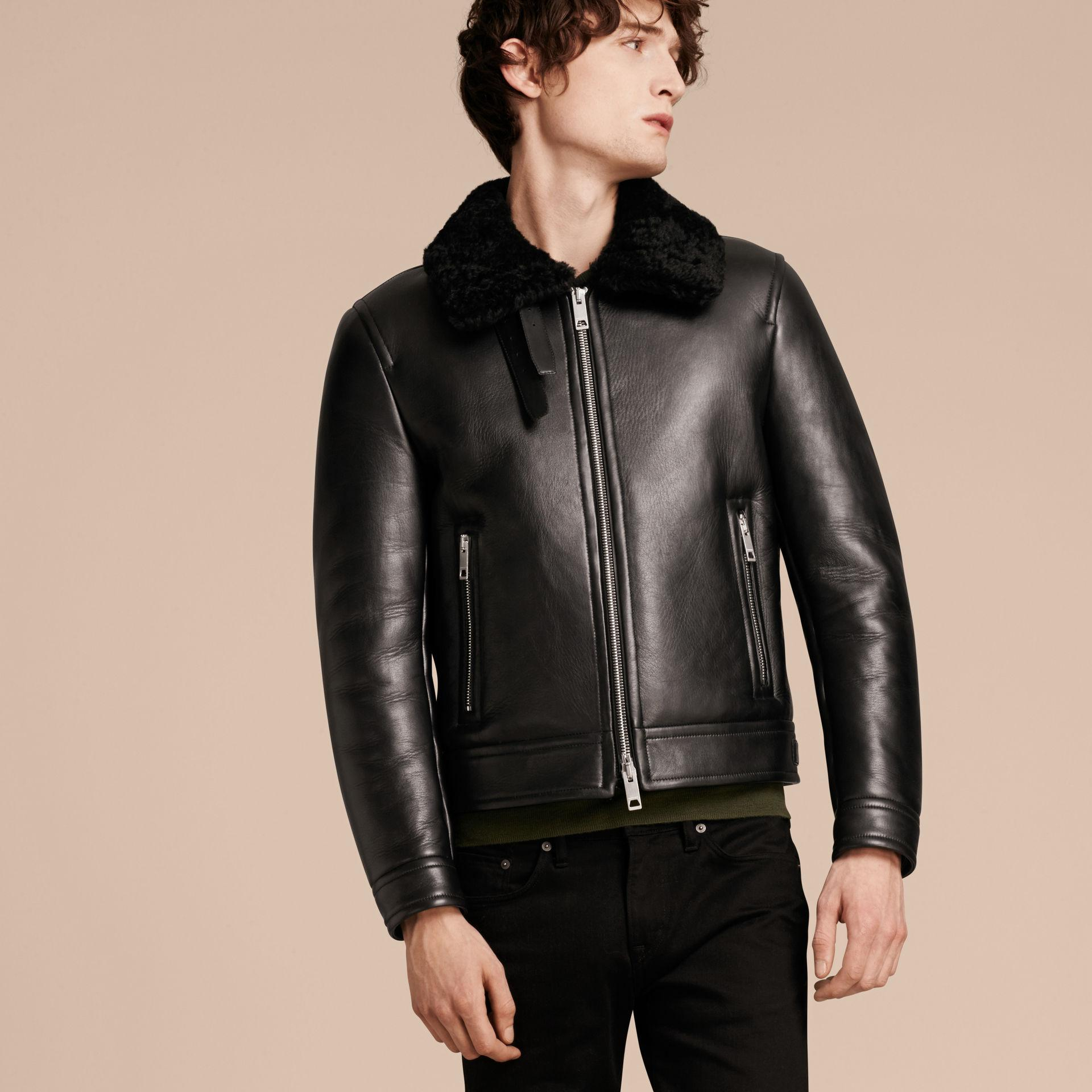 how to clean shearling jacket