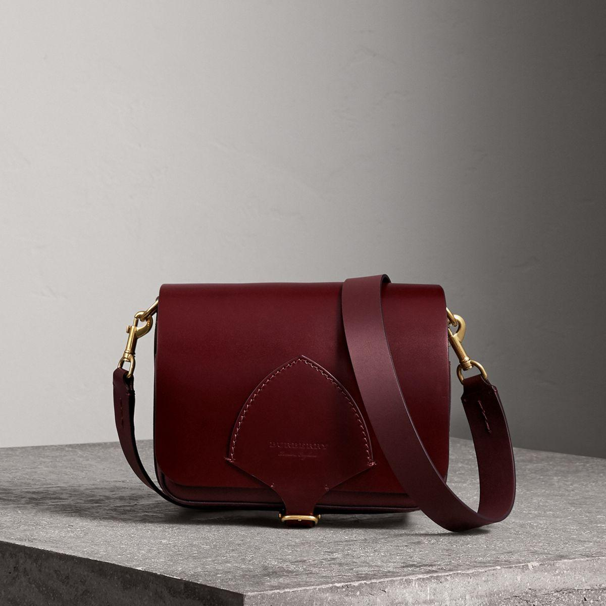 f8158db8700e Burberry The Square Satchel In Bridle Leather - Lyst