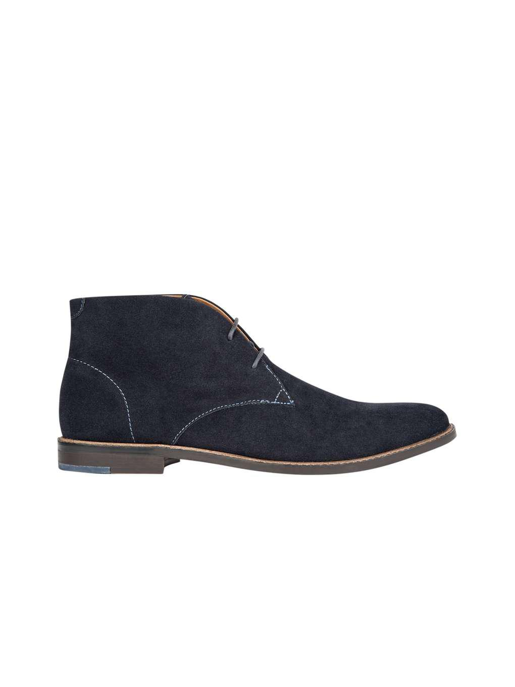Navy suede 'Seth' chukka boots sale 2014 newest clearance latest collections outlet store sale online DMrbGV