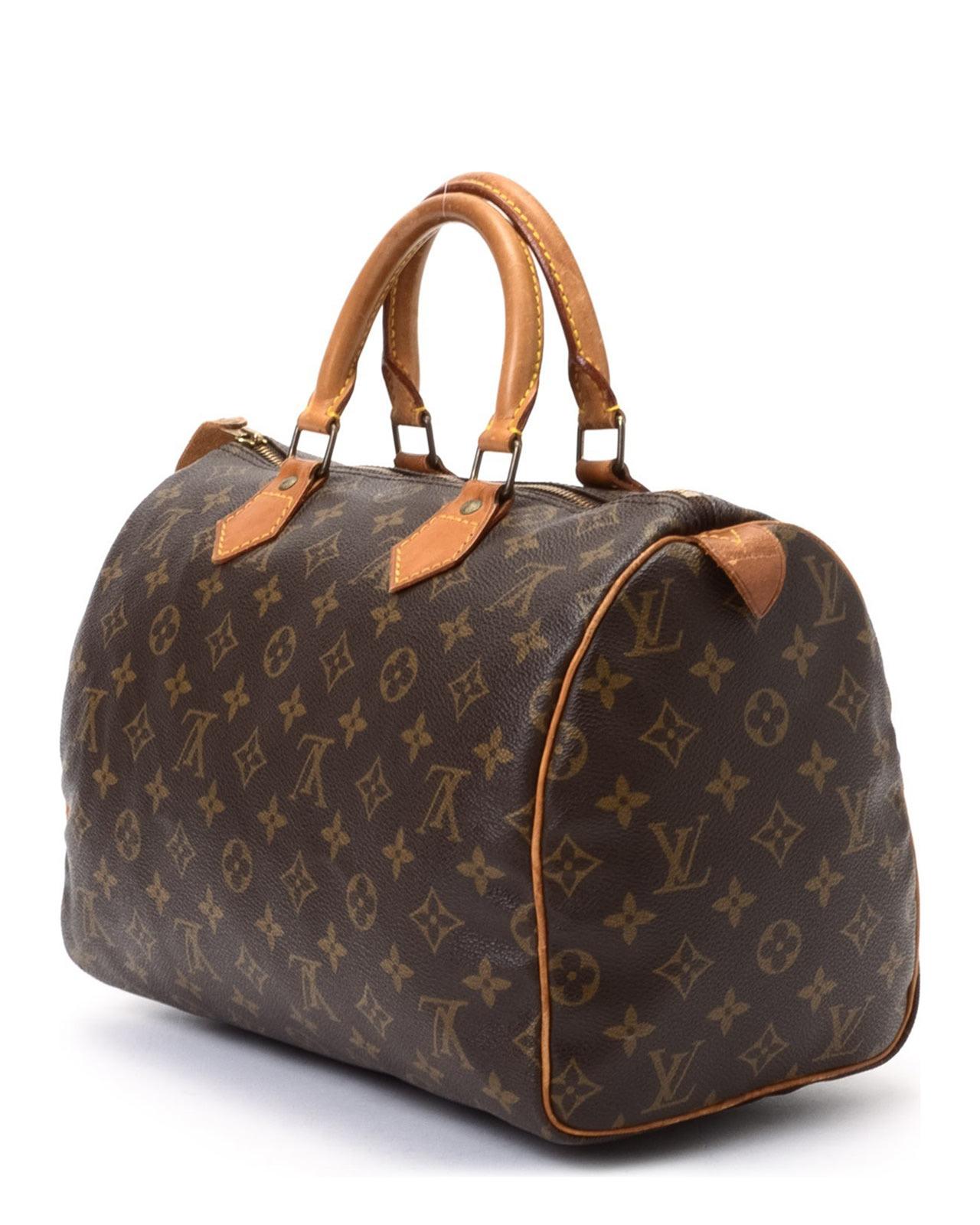 Property Brothers Apply Louis Vuitton Speedy 30 Handbag In Brown Lyst