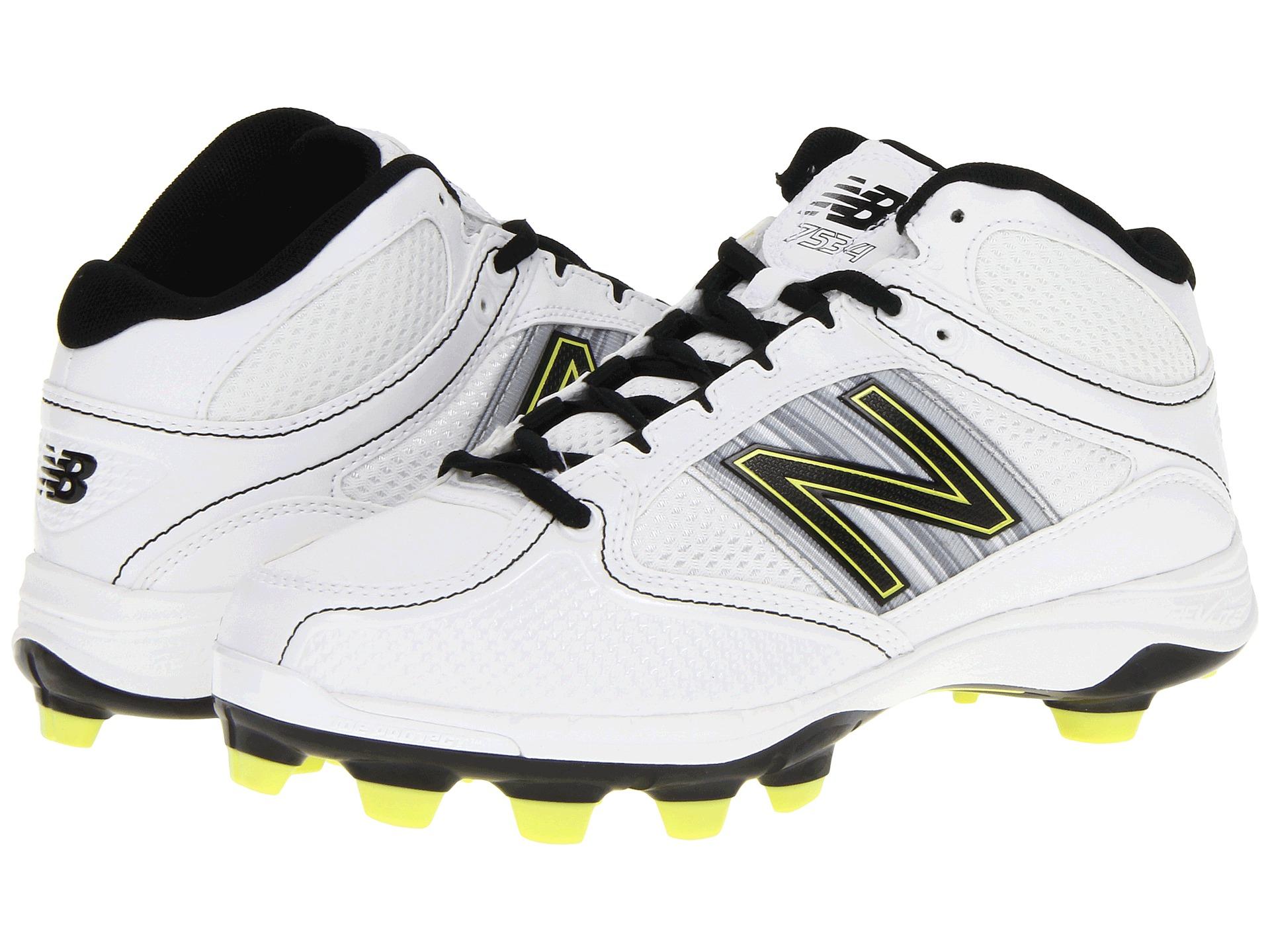 Womens Shoes New Balance WF7534 TPU Molded Mid-Cut White/Black