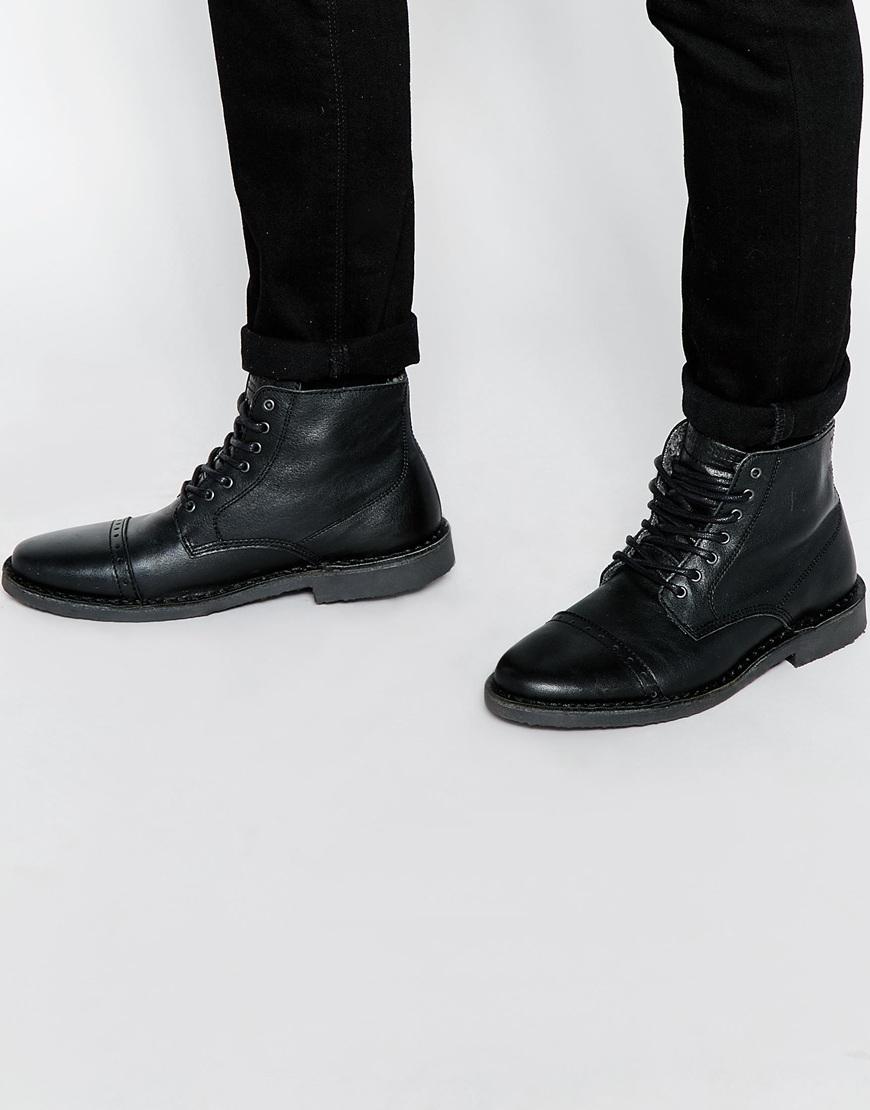 Mens Gobi Ankle Boots Jack & Jones XRWbMT4k4C