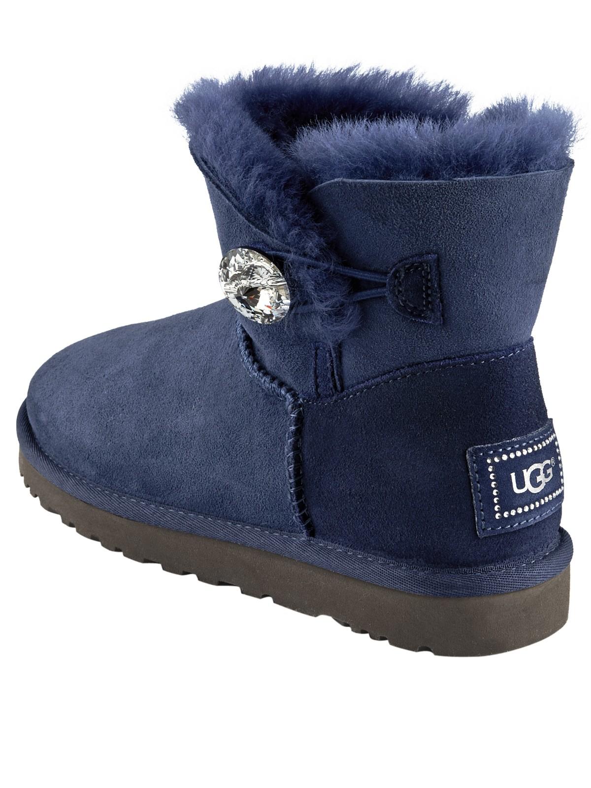 Very Blue Uggs