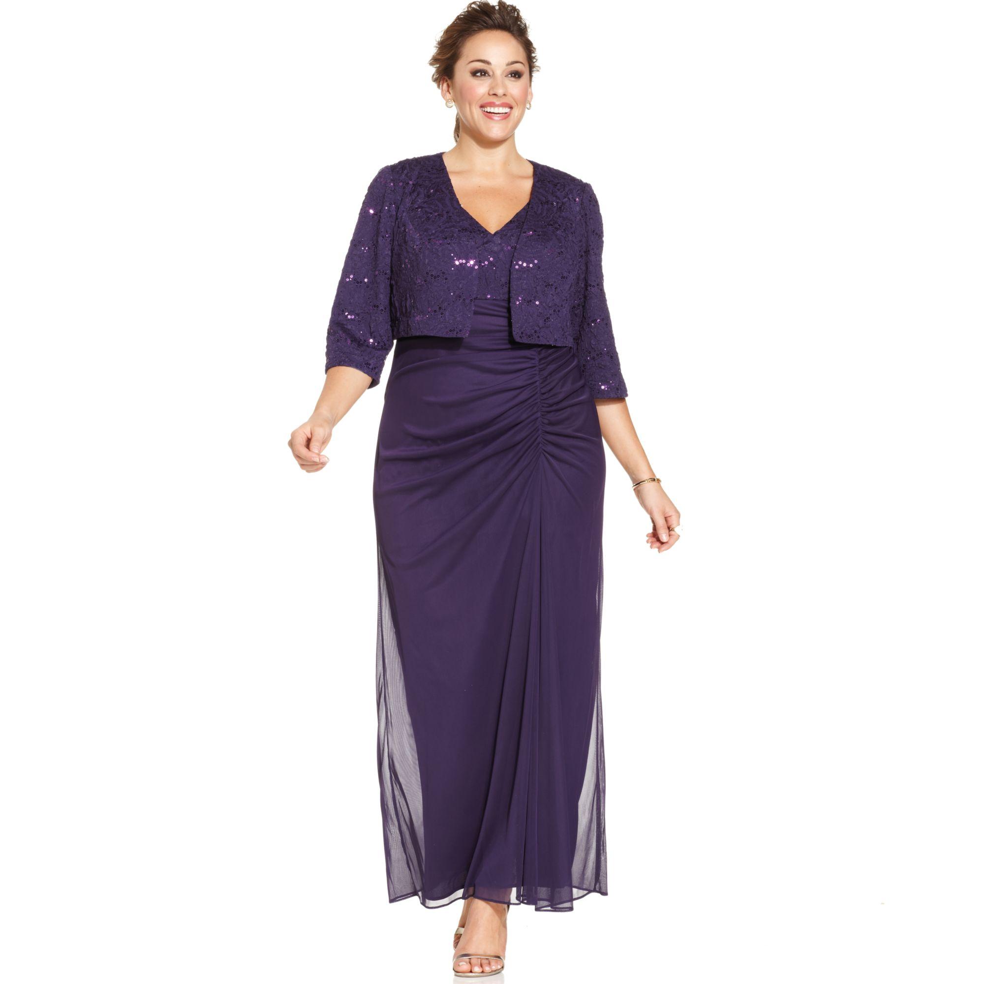 alex evenings plus size dresses images - dresses design ideas